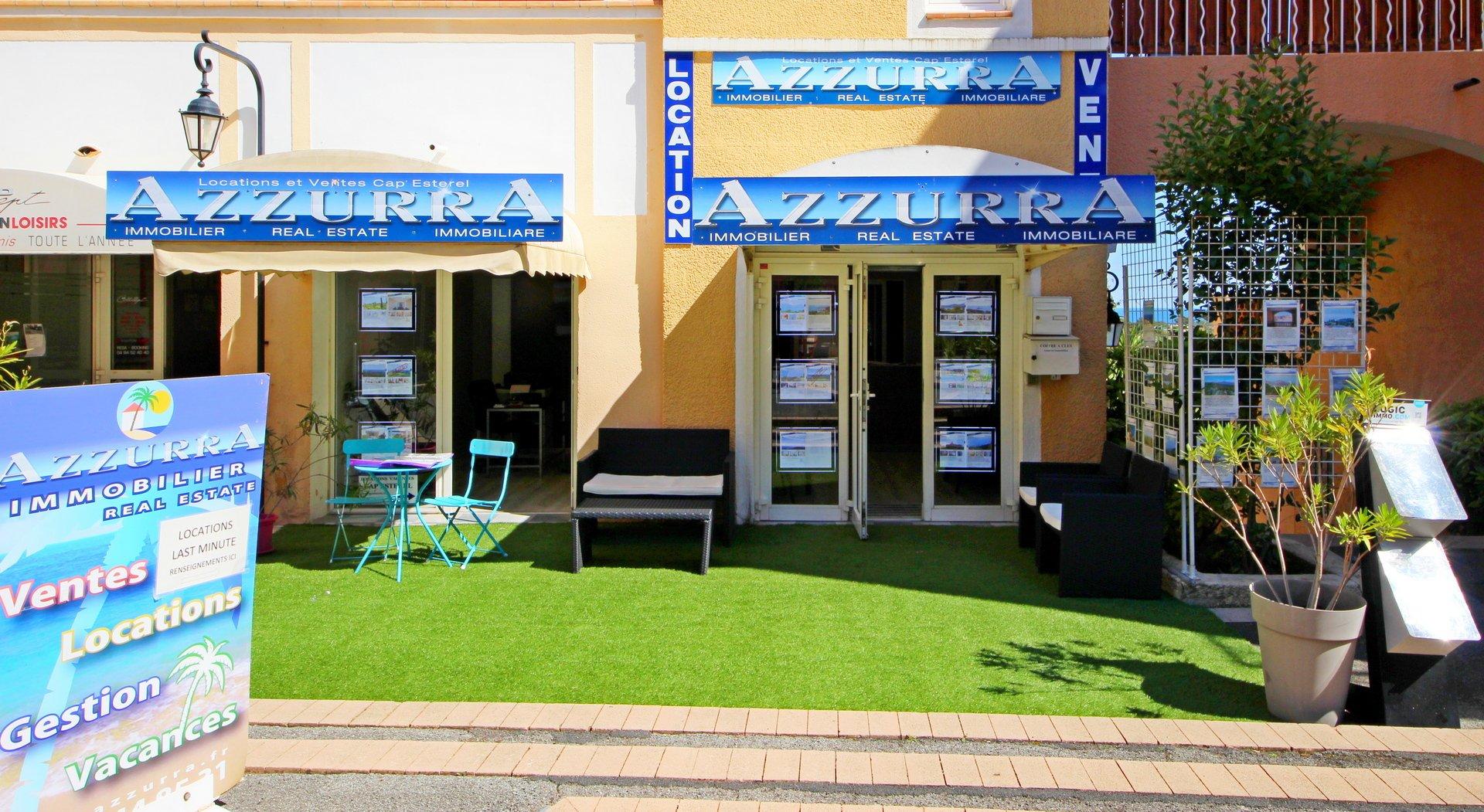 Agay Cap Esterel studio cabine premier étage proche centre terrasse couverte