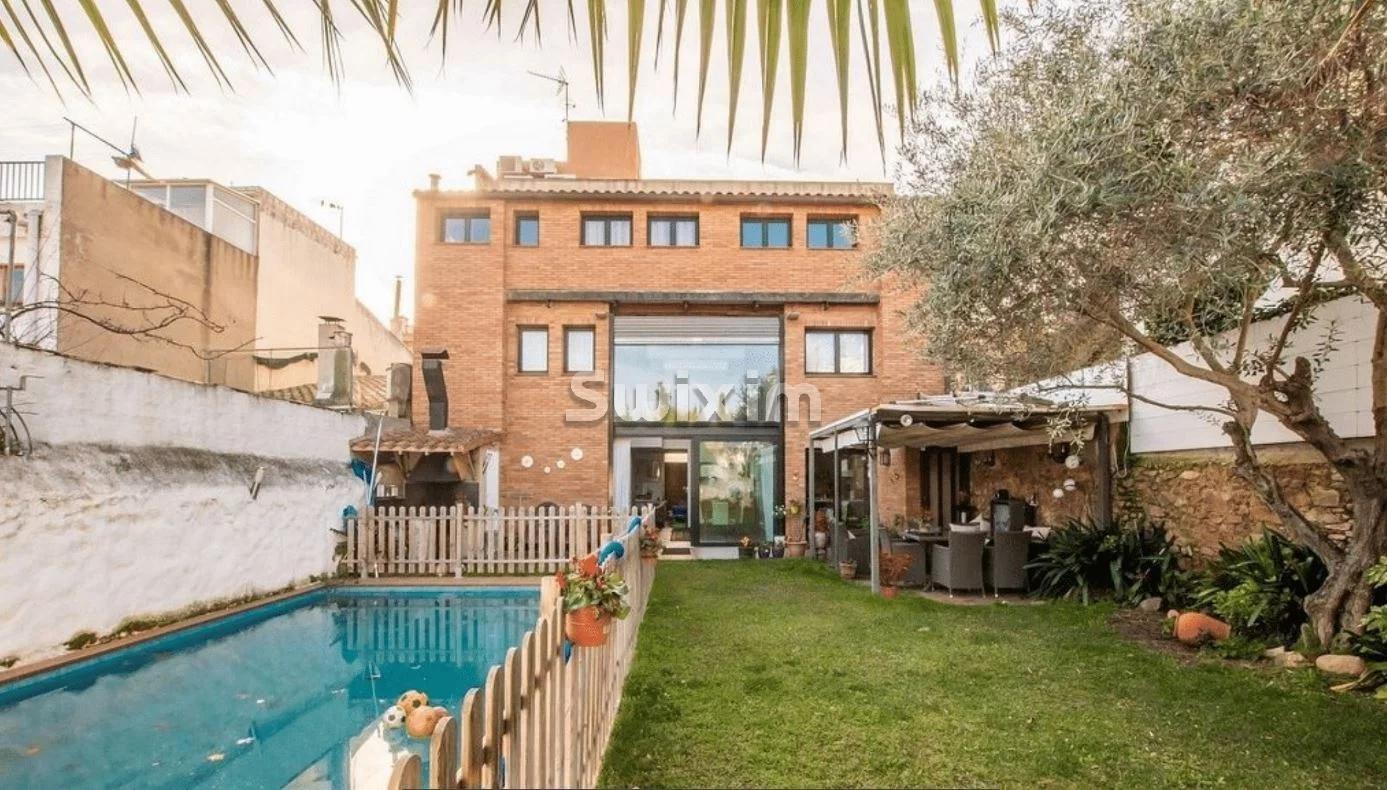 Maison avec jardin, piscine privée et belle vue