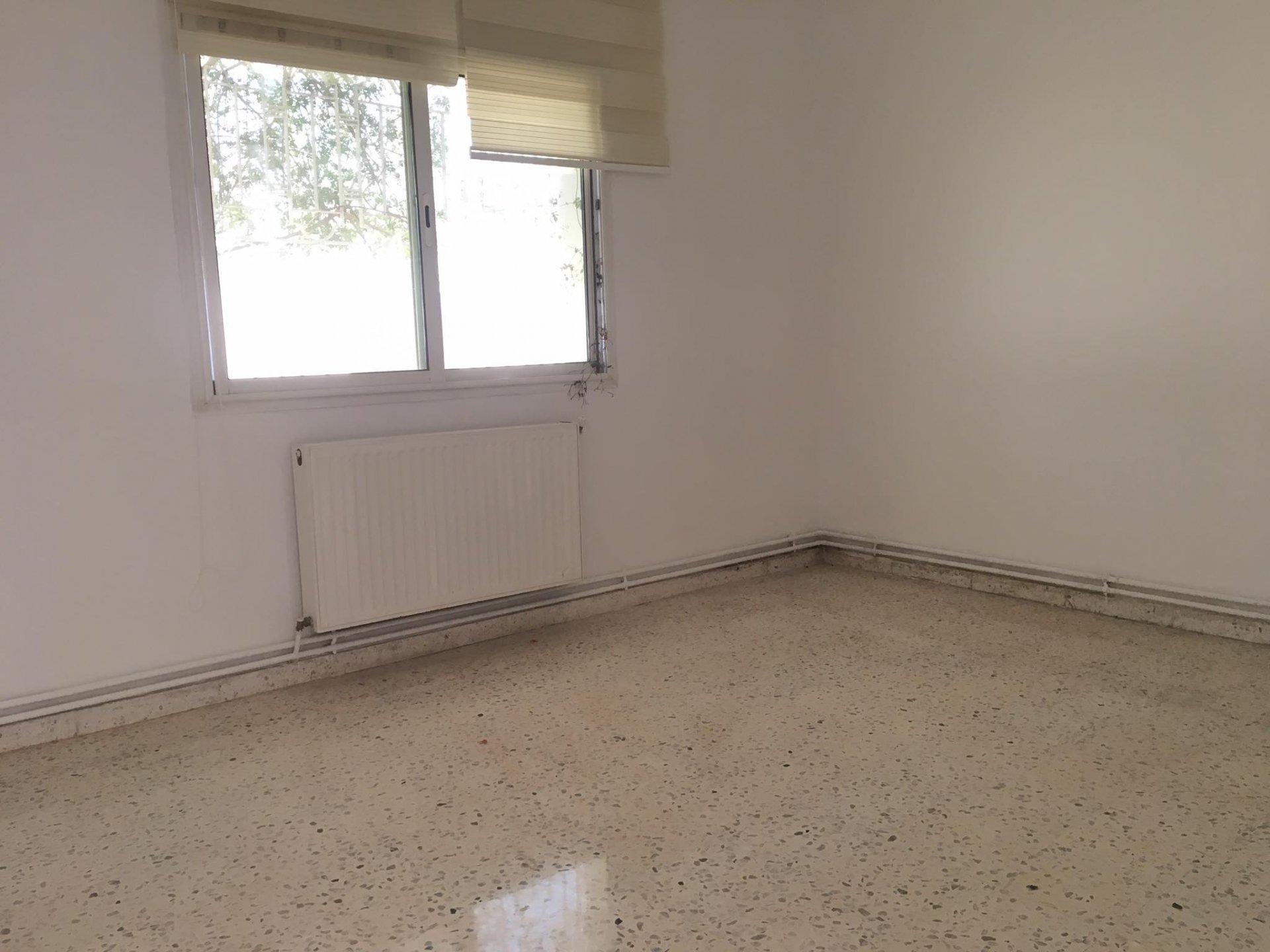 Location Appartement S+3 avec jardin à La Marsa