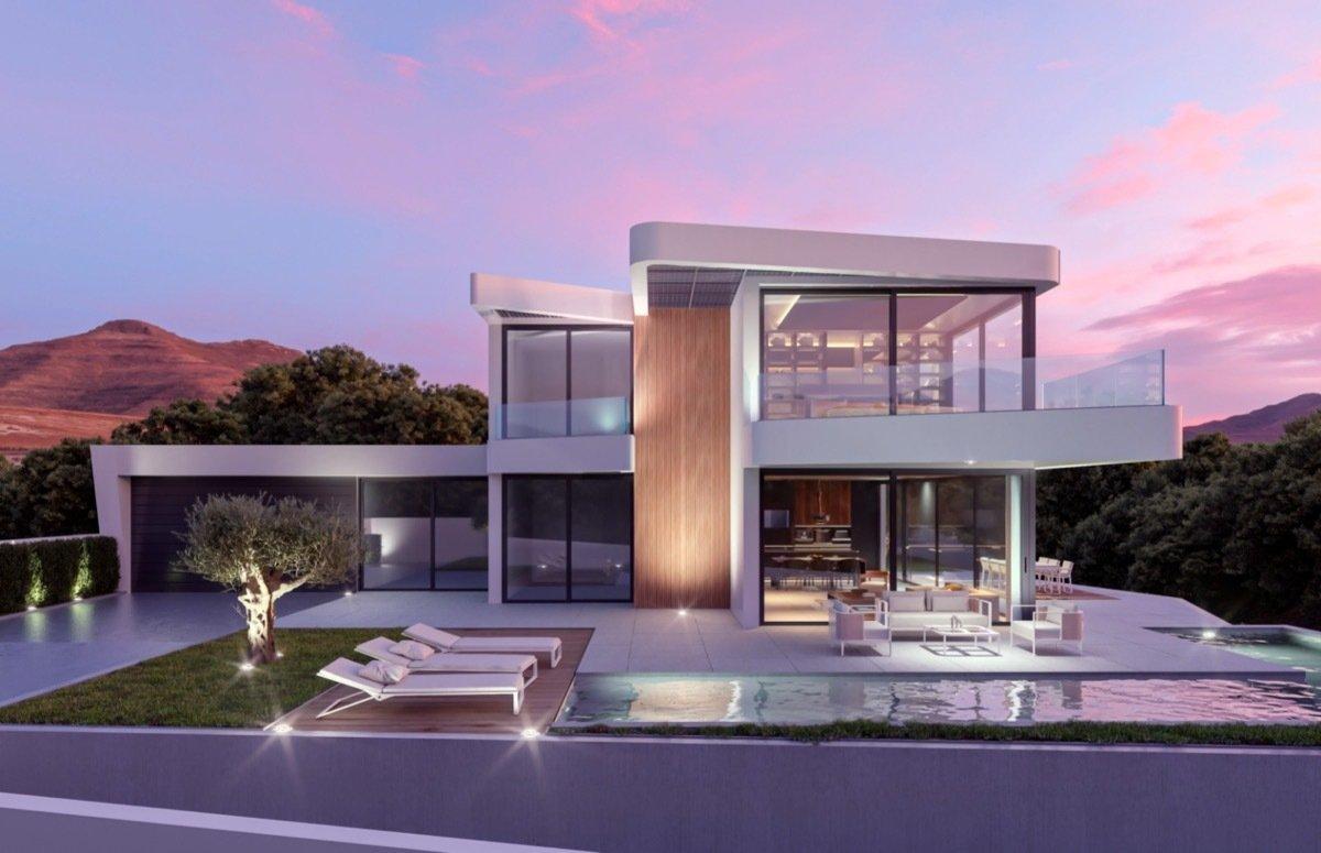Villa de luxe de nouveau développement