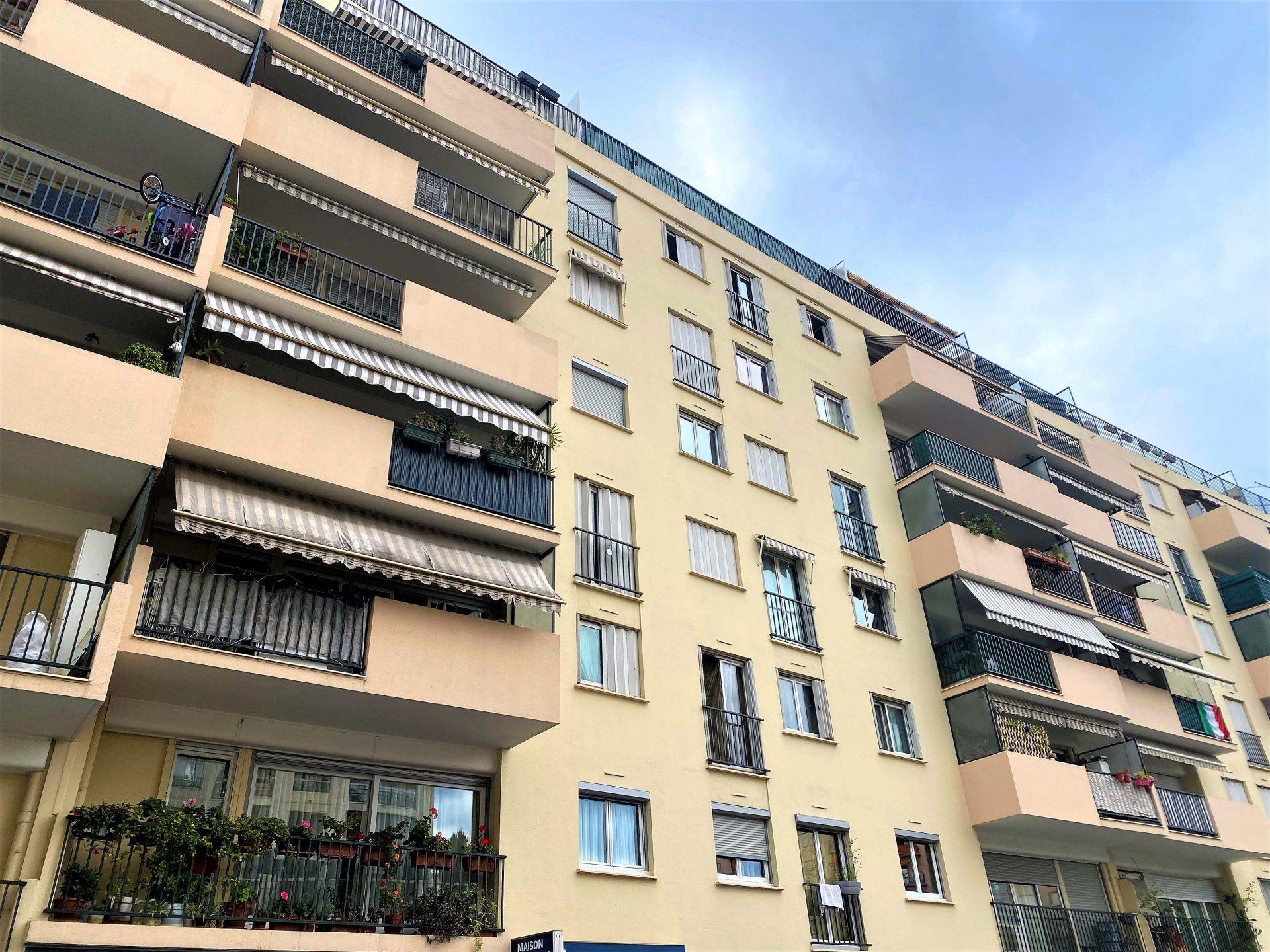 Nice Ouest, quartier René CASSIN, 2P 49m²