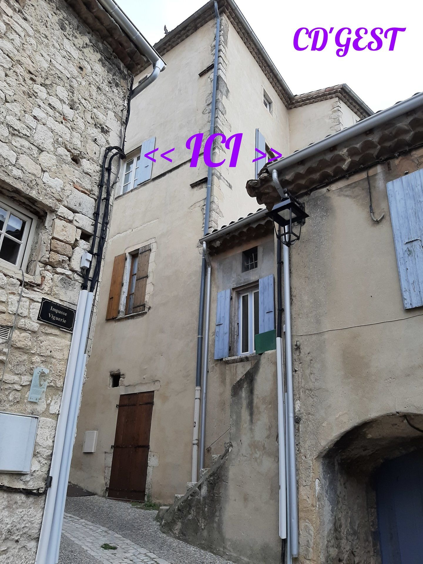 Appartement Donzére T2 : 34 m2