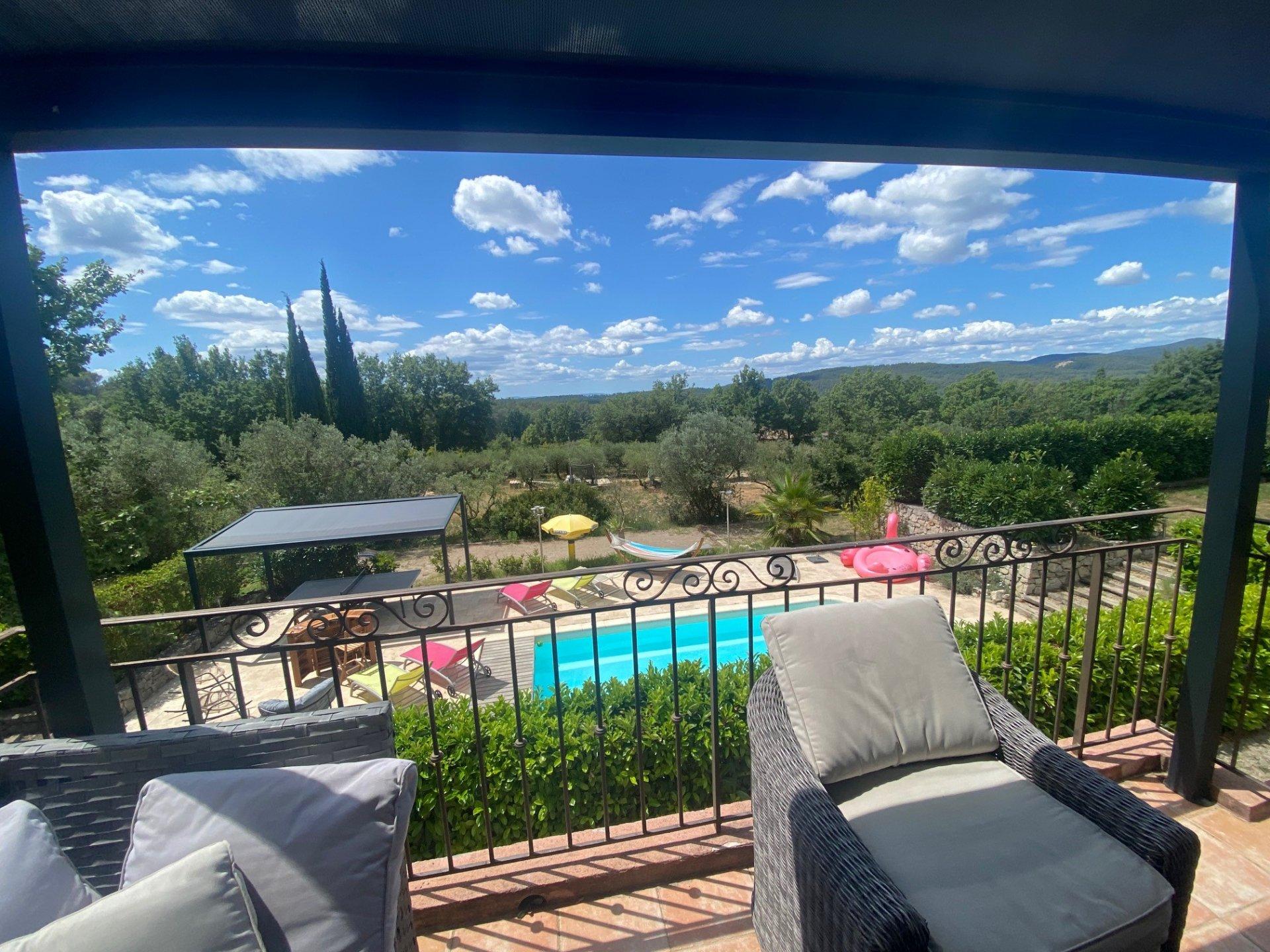 CALLAS : Villa avec piscine et cabanon indépendant