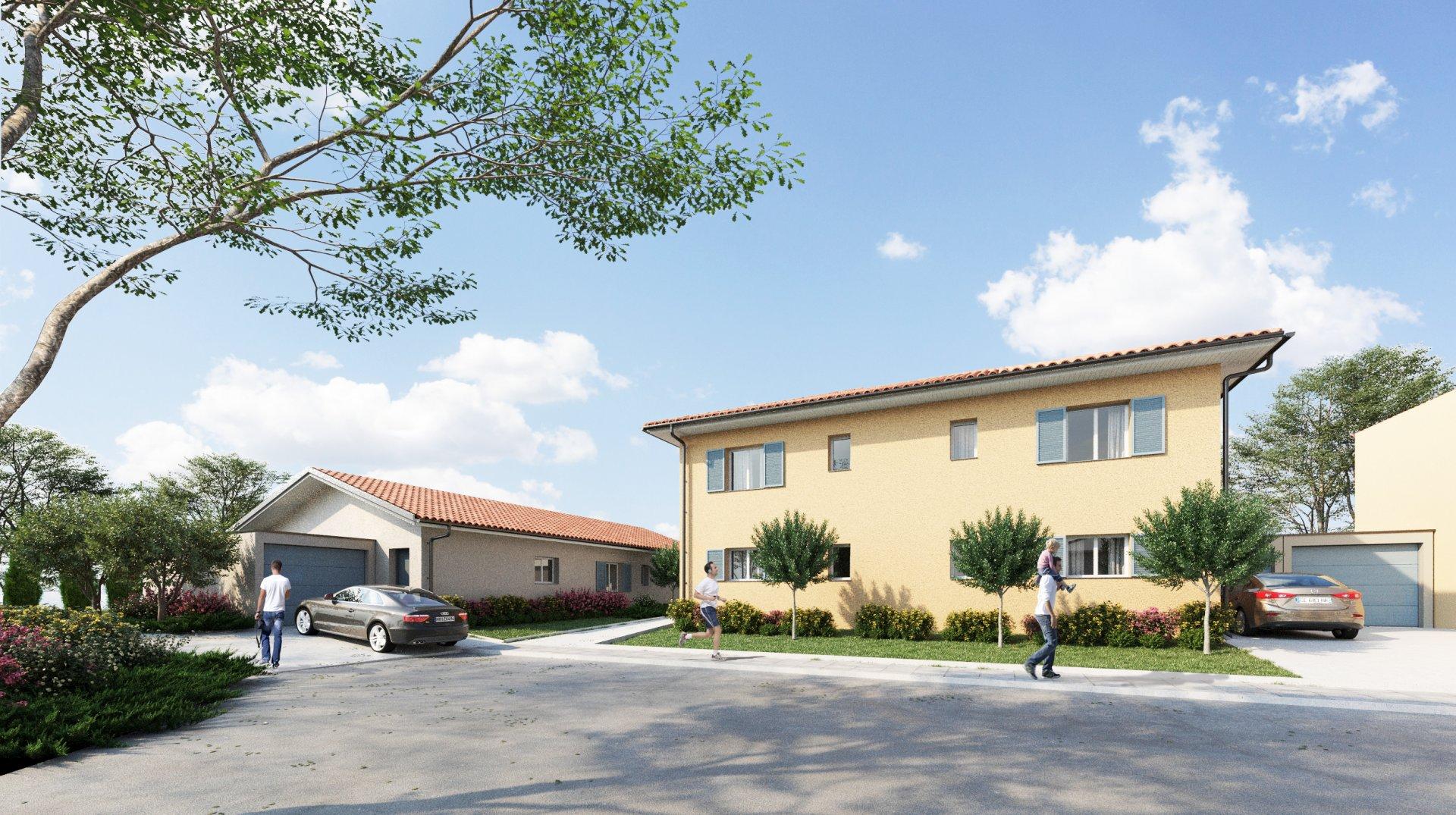 Maison T4 duplex 89m² avec jardin et garage