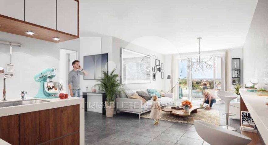 FREJUS - Appartement de 58 m2 en 1er étage