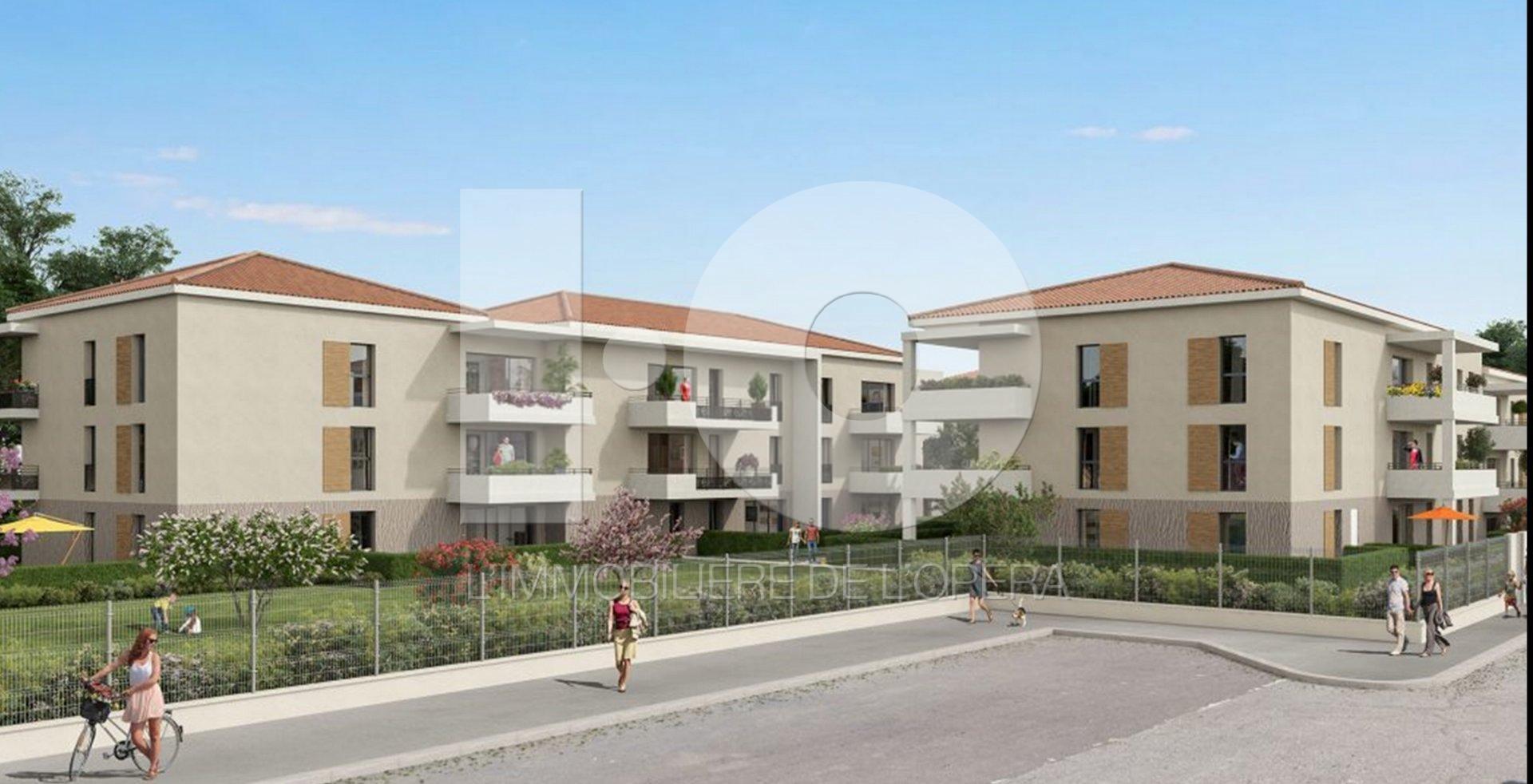 FREJUS - Appartement de 66 m2 en Rez de Jardin