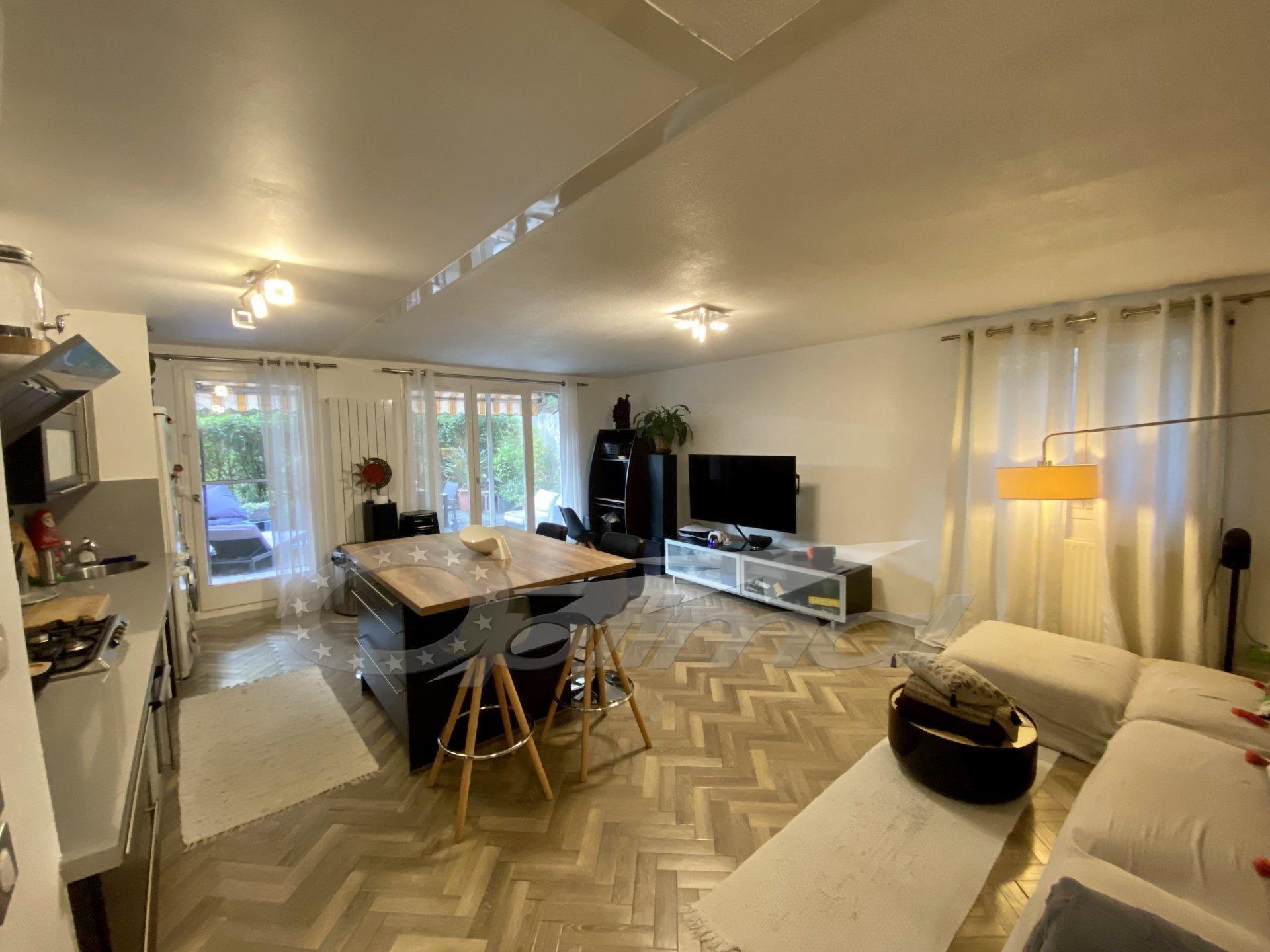 5 pièces 93.16m² , terrasse jardin + parking et cave