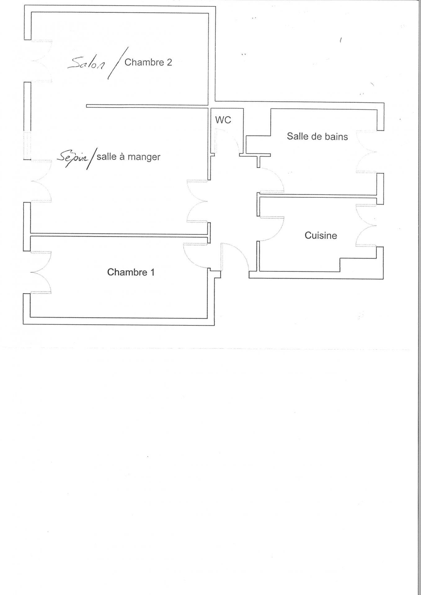 APPARTEMENT 61 M² CAVE PARKING