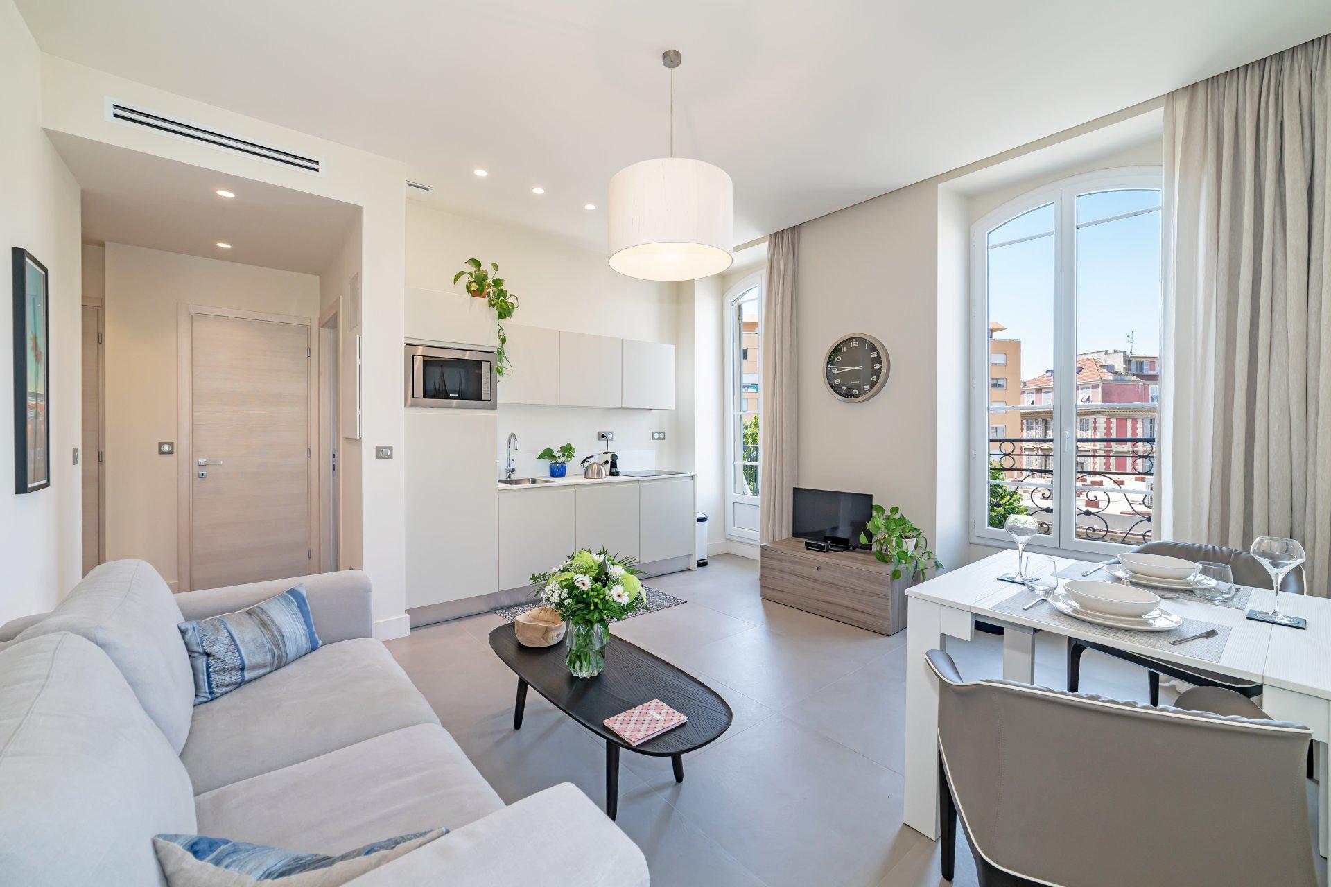 Appartement irréprochable au cœur de Nice
