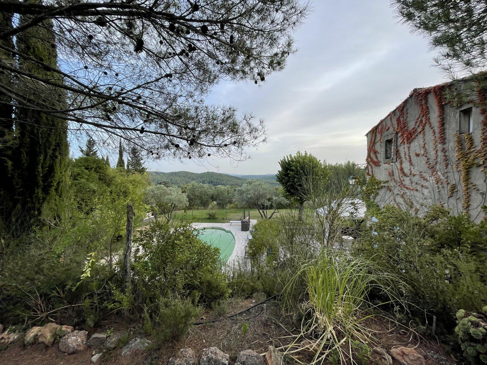 AIX-EN-PROVENCE / BASTIDE ROUTE DE CEZANNE - LE THOLONET