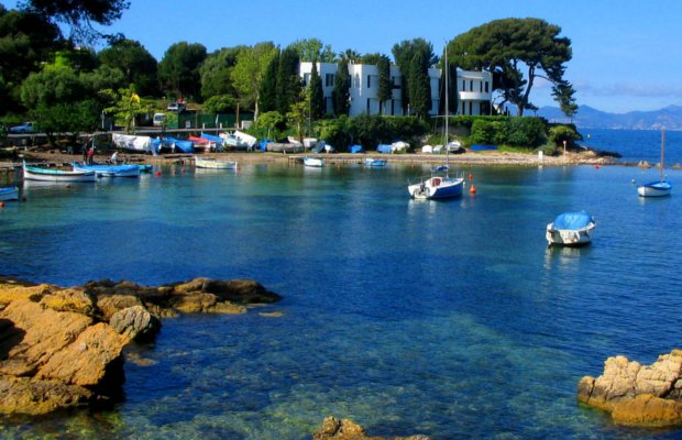 CAP D'ANTIBES - French Riviera - Villa with sea view