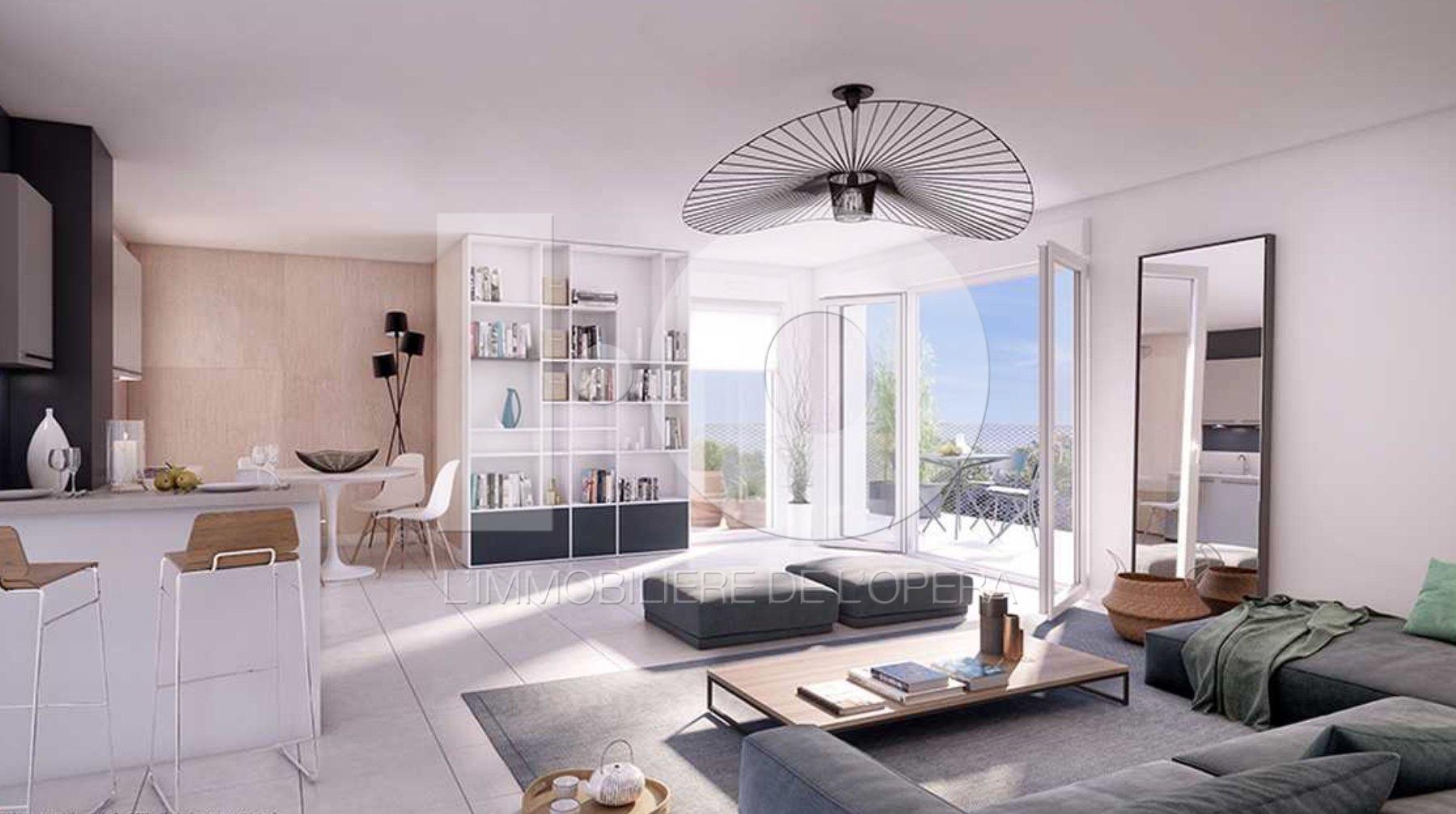 CAGNES S/ MER - Appartement 5 Pièces 112 m2, Terrasse 38 m2,