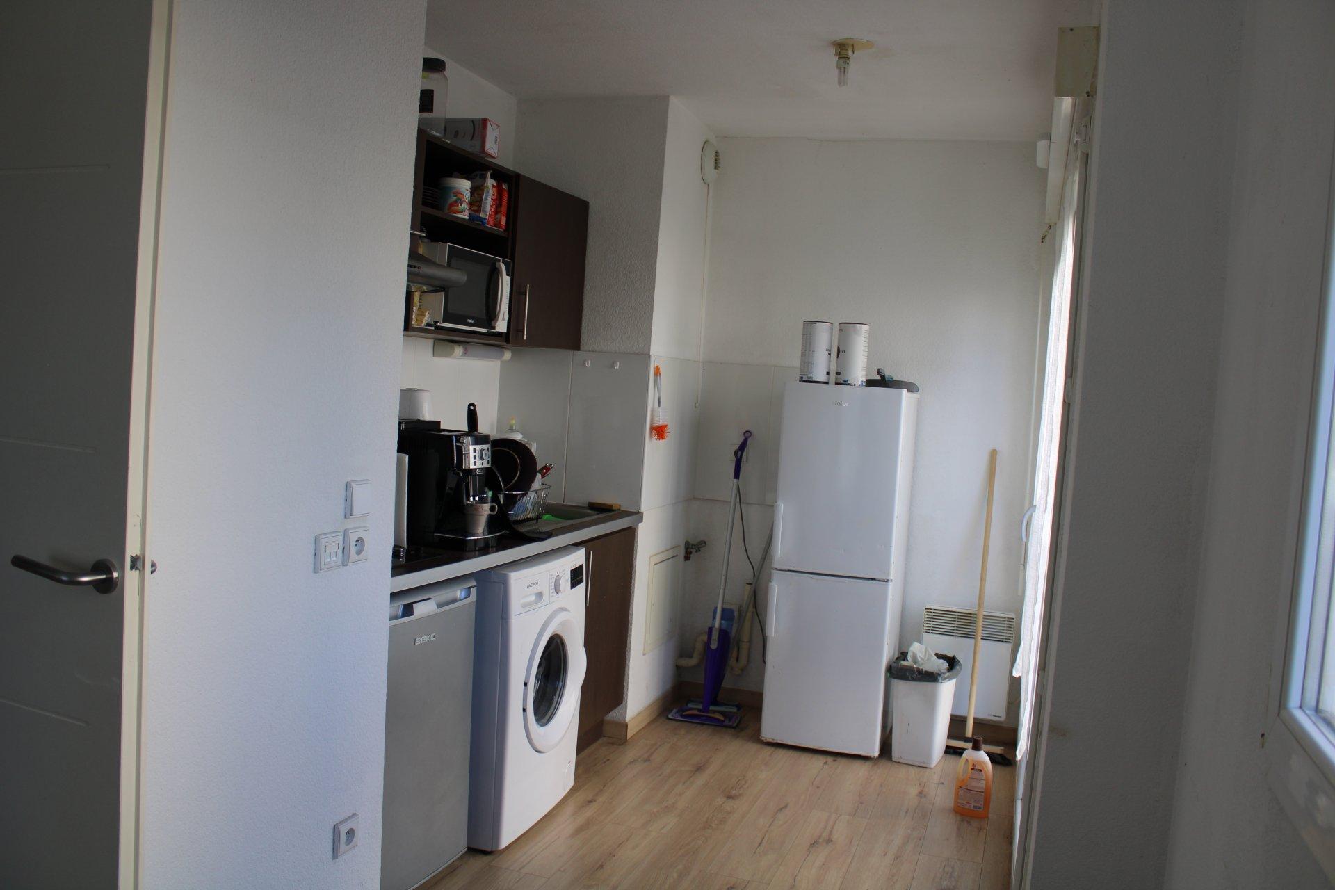 Appartement 2 pièces loué avec parking
