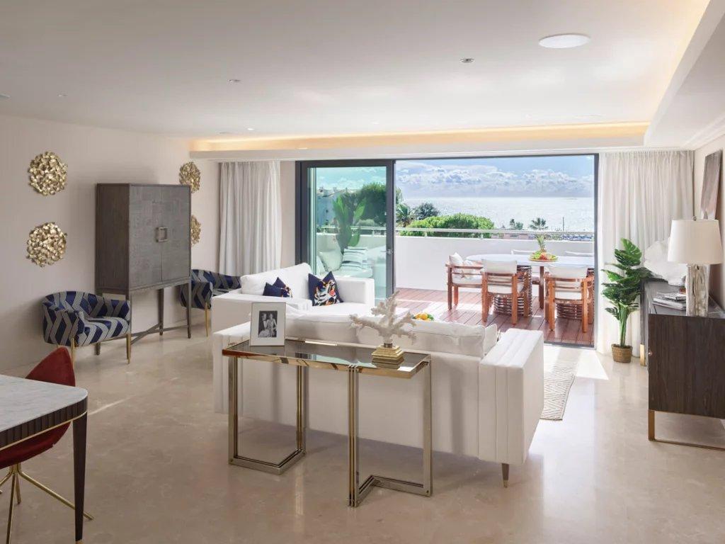 Cap d'Antibes - Lekker penthouse i lukseriøs ny residens.