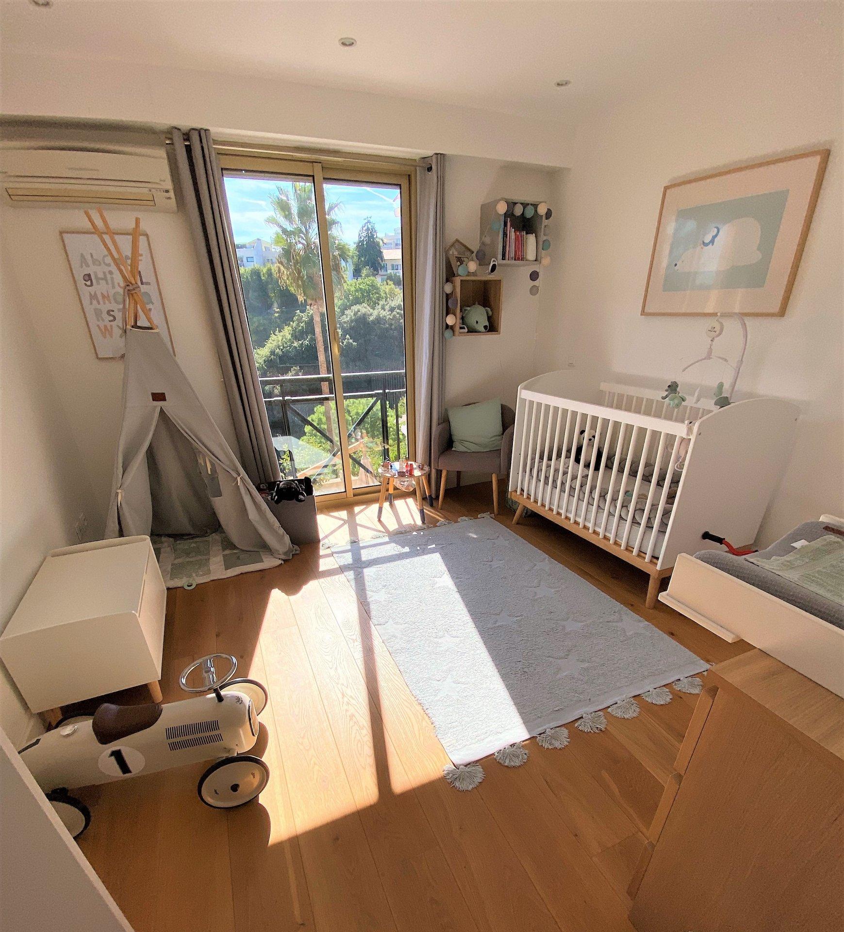 Colline Fabron, 3P 88m² + terrasse + garage
