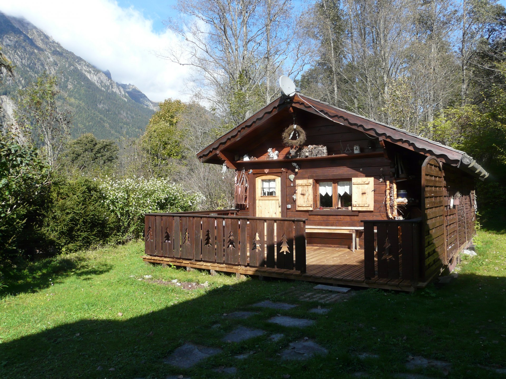 Atypical chalet.