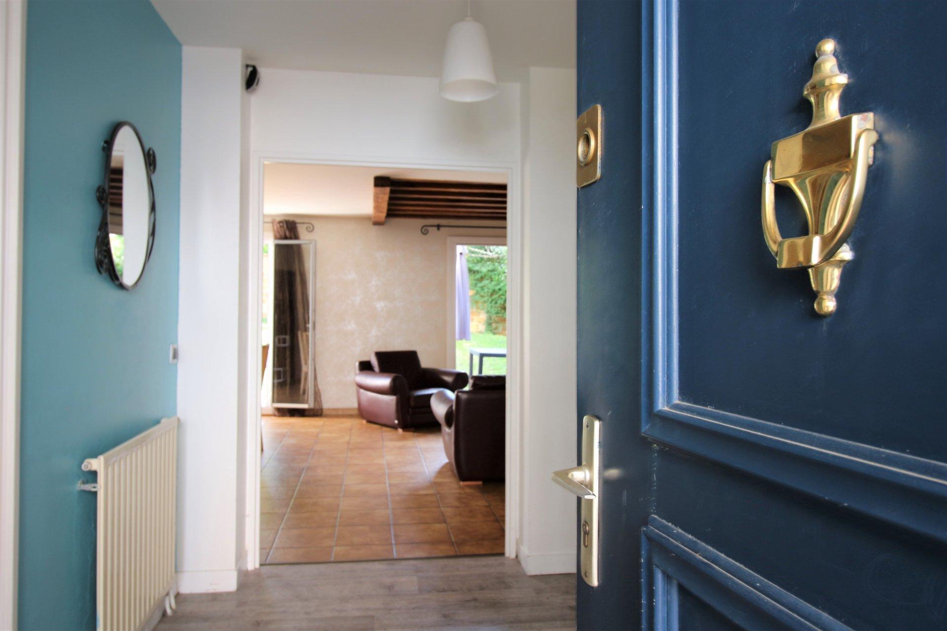 MAISON  FAMILIAL de 110 m², 5 pièces, 4 chambres, jardin, garage, sans vis à vis au calme