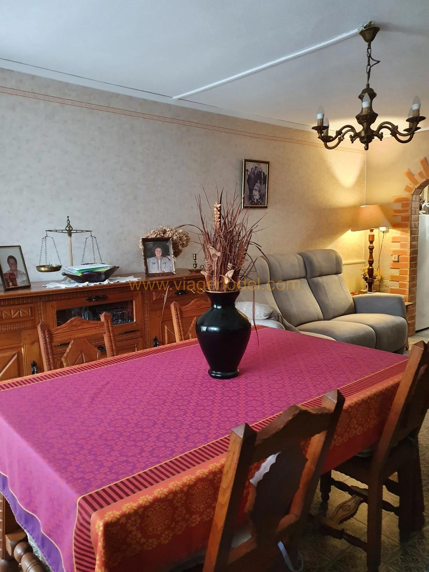 Ref. annonce : 8410 - WARCQ (08) VIAGER OCCUPE