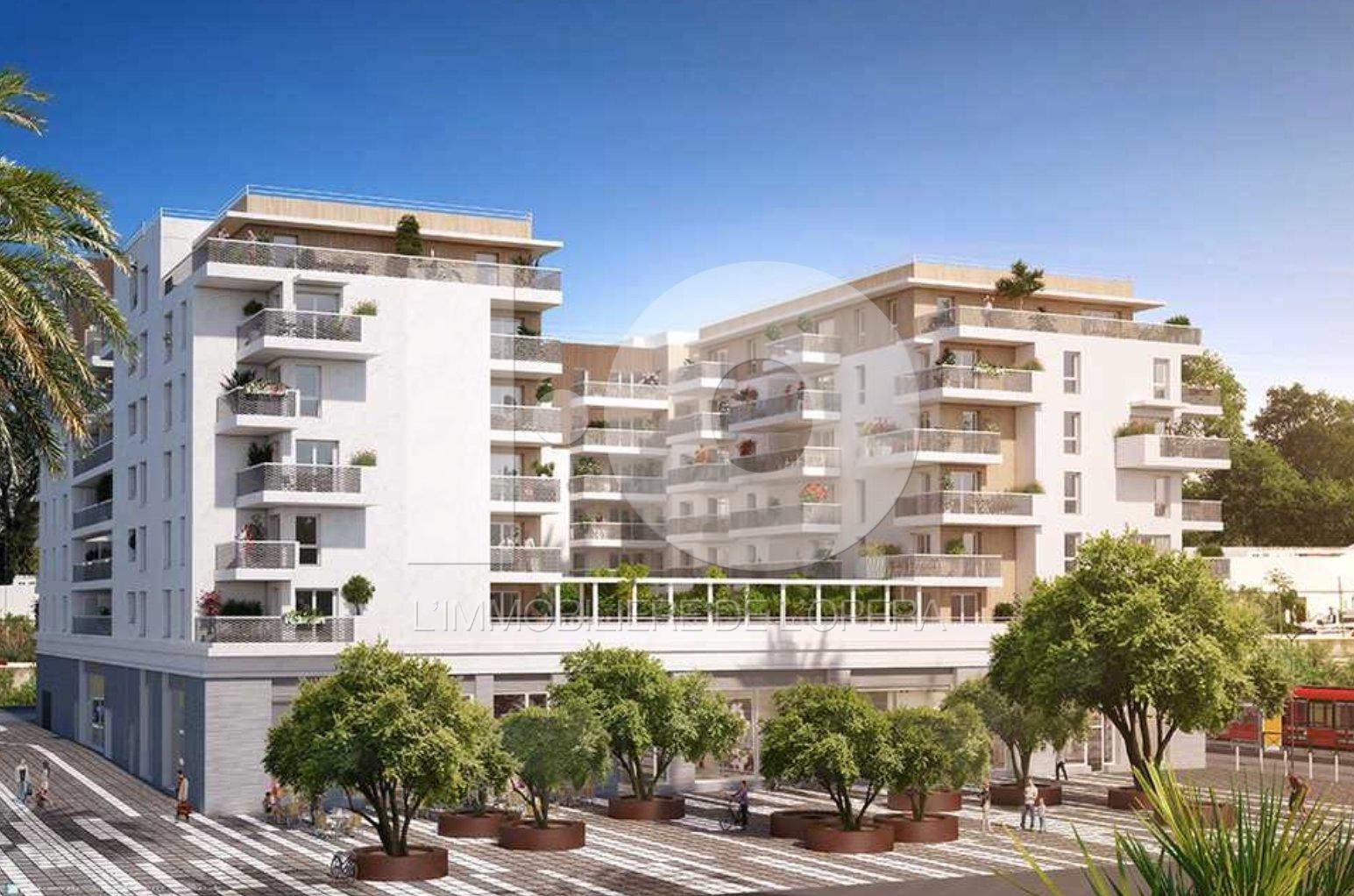 NICE VAUBAN - Appartement 3 pièces de 59m2 + Terrasse