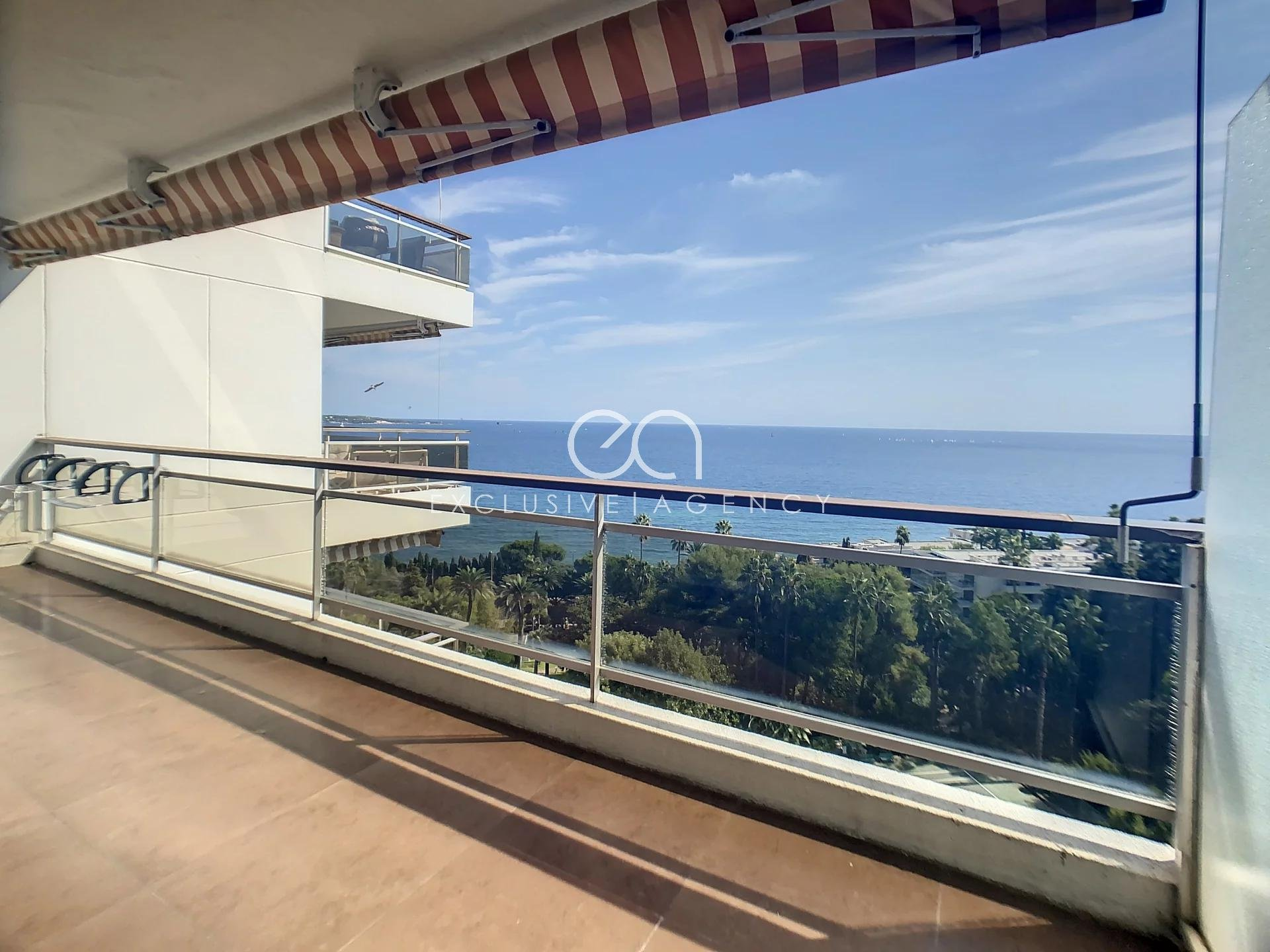 Beautiful apartement with 2 bedrooms facing the sea
