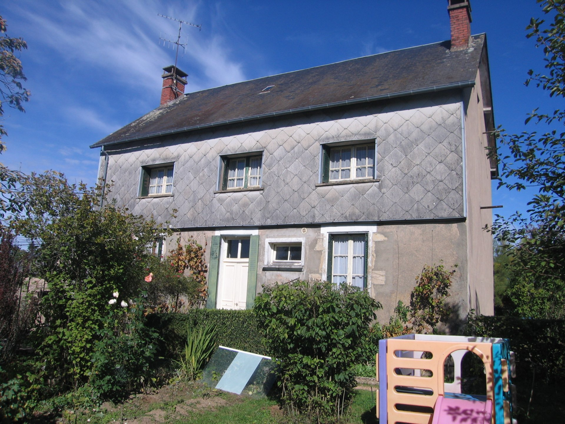 House to refresh for sale near Château-Chinon in the Morvan