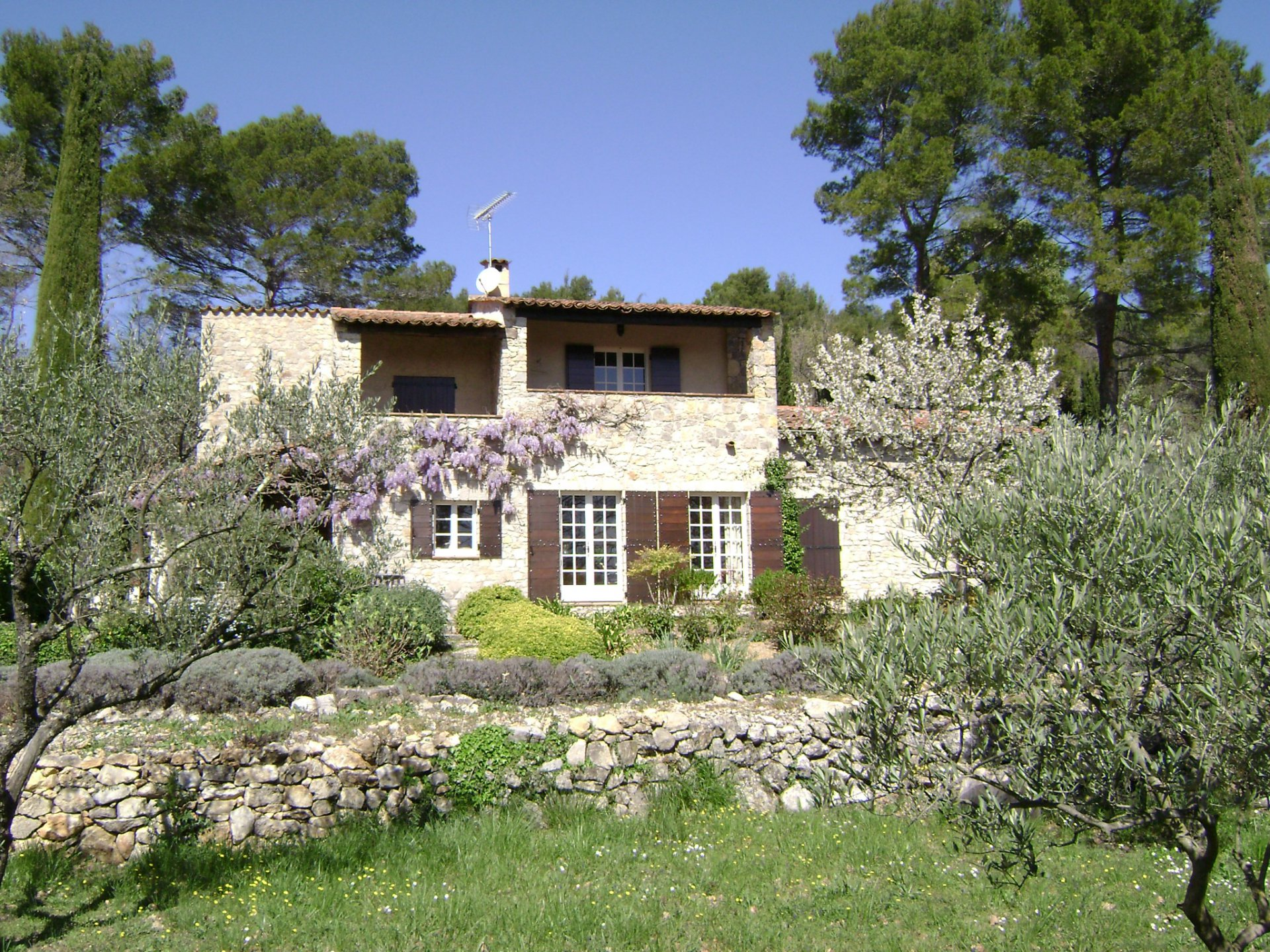 Fayence, karaktervol huis op prachtig land