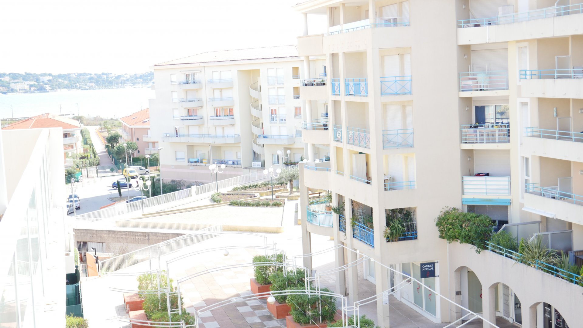 2 rooms in Juan les Pins