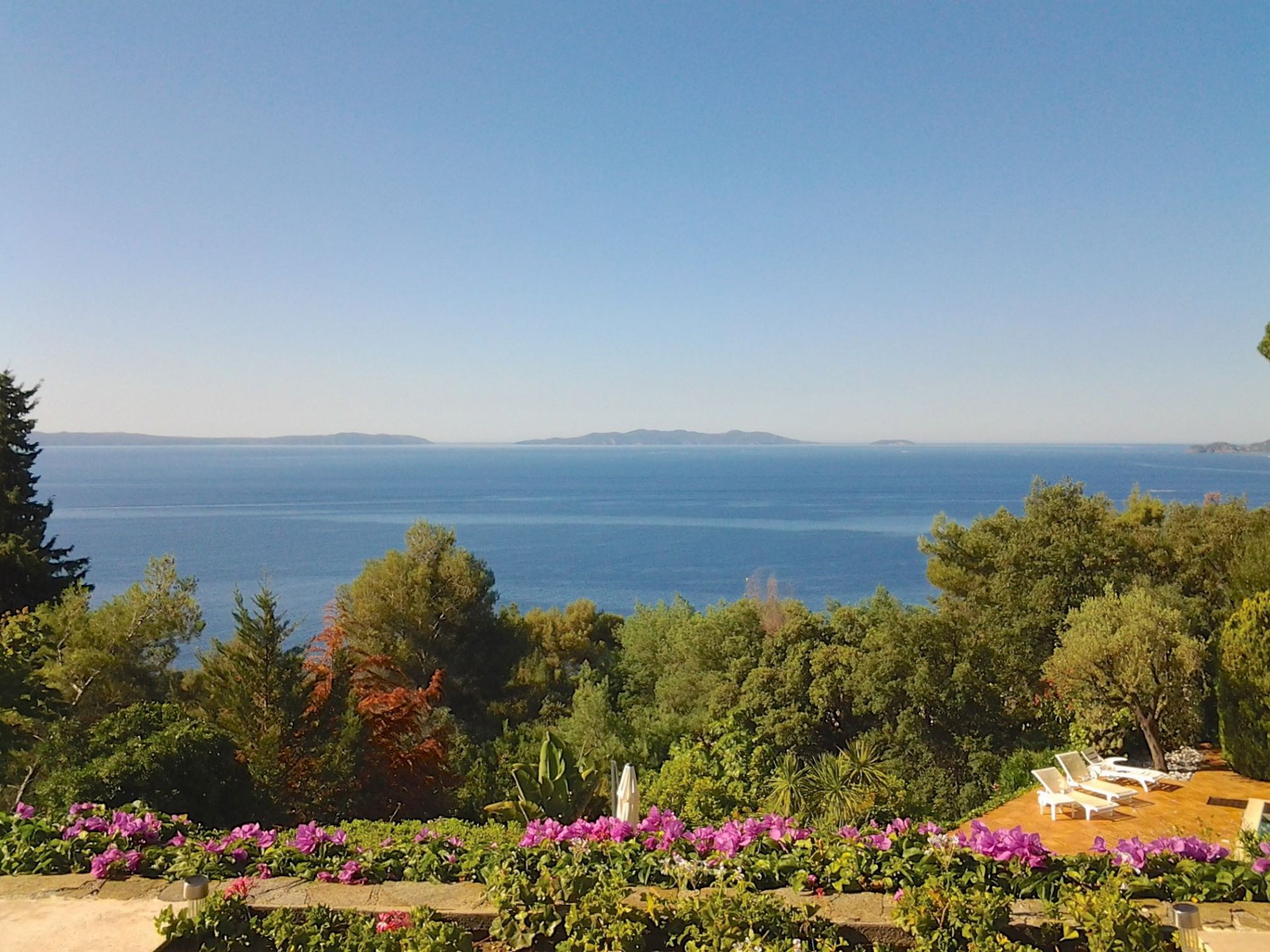 Property with stunning view le Lavandou Aiguebelle Var Provence