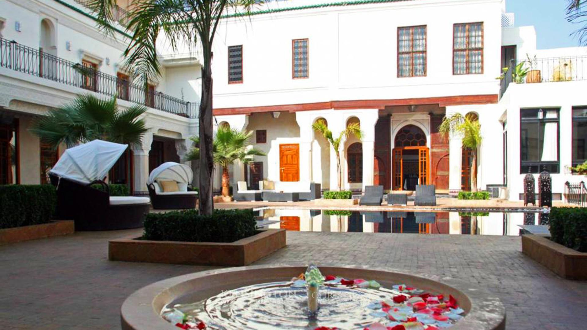 KPPM00507: Historic Palace in Fez Medina Riad Fèz Morocco