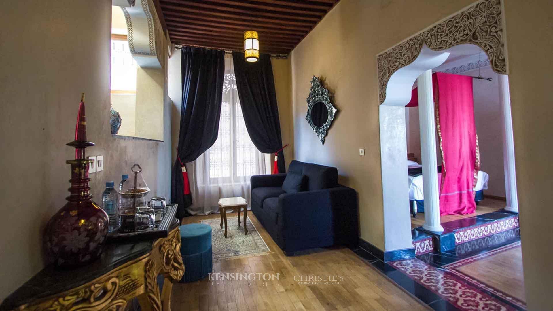 KPPM00507: Palais historique dans la Medina de Fez Riad Fès Maroc