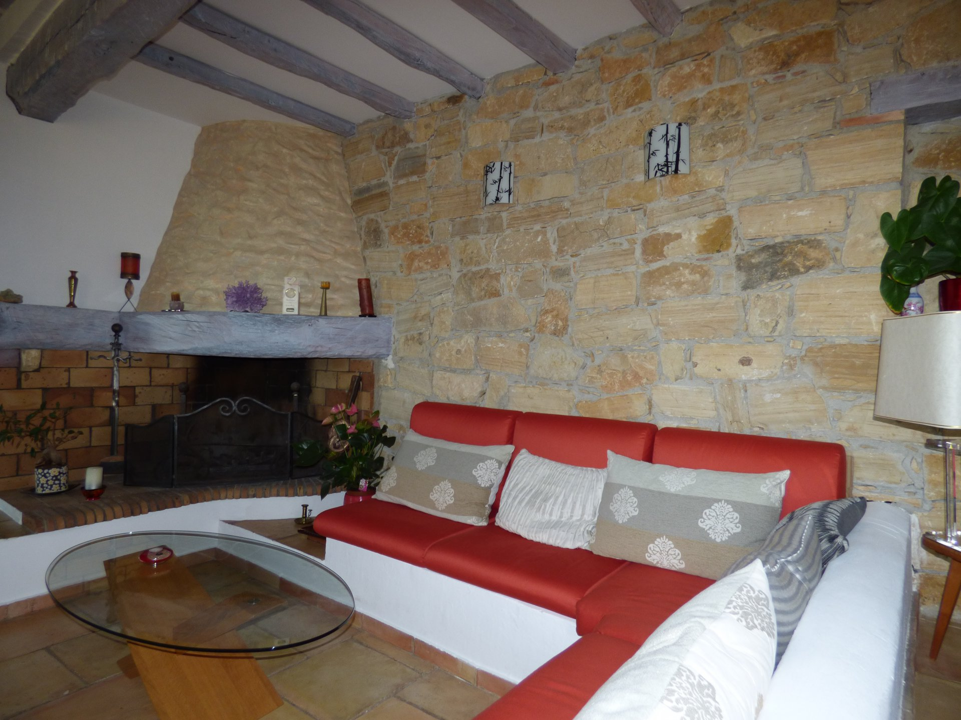 Fayence area: house in country side with view