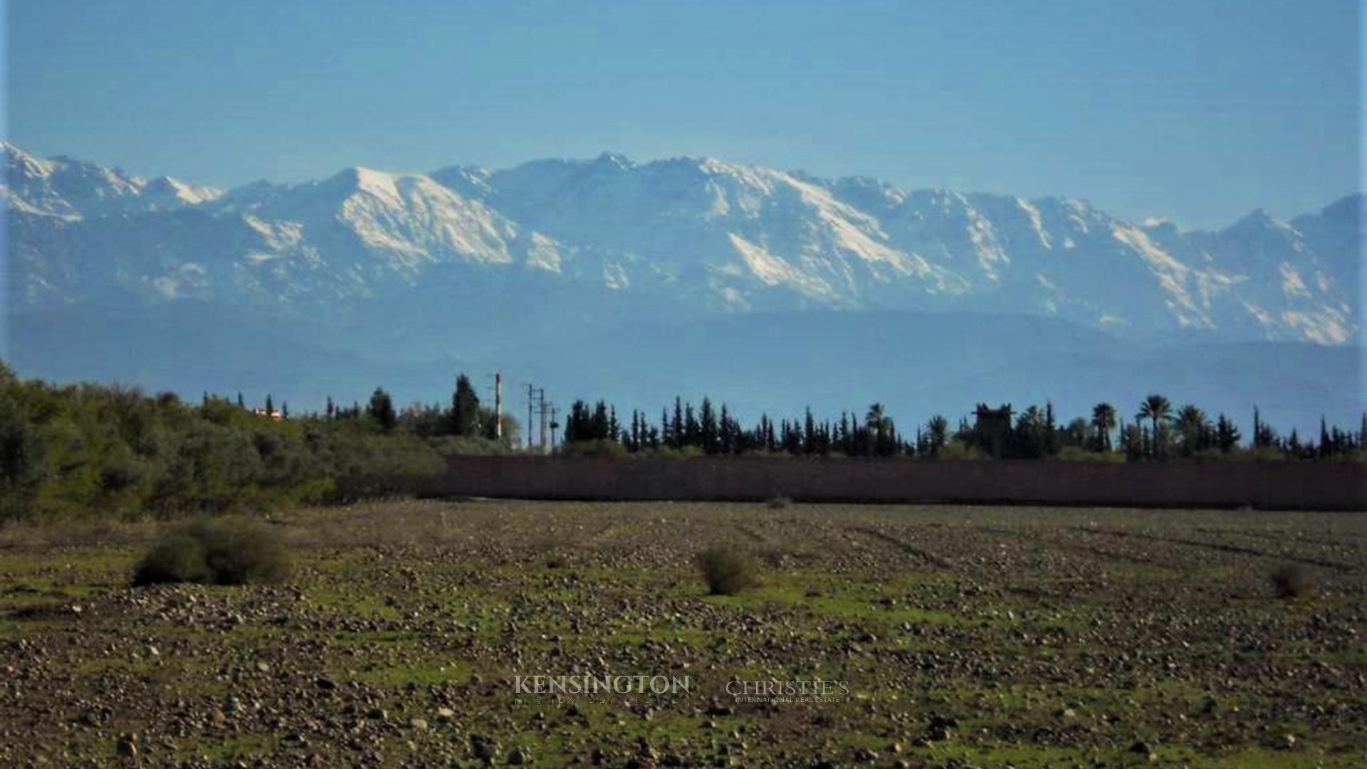 KPPM00522: Terrain à construire Terrain constructible Marrakech Maroc