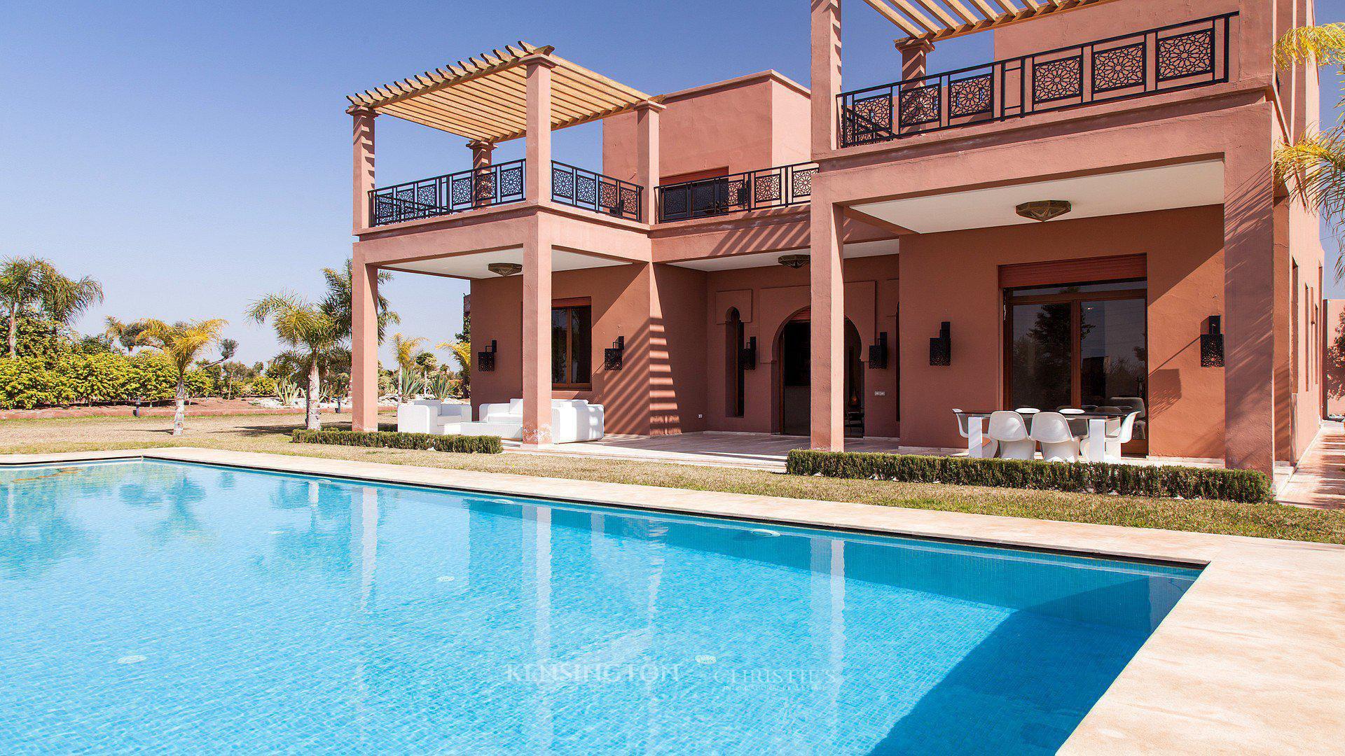 Villa De Luxe A Vendre Marrakech Palmeraie Villa Nashira