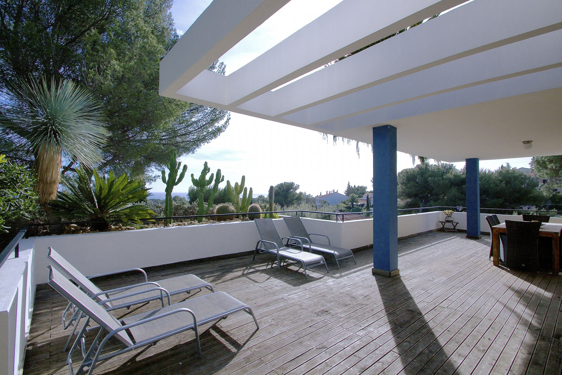 Saint Aygulf - Splendour villa with SEAVIEW divided into 3 apartments