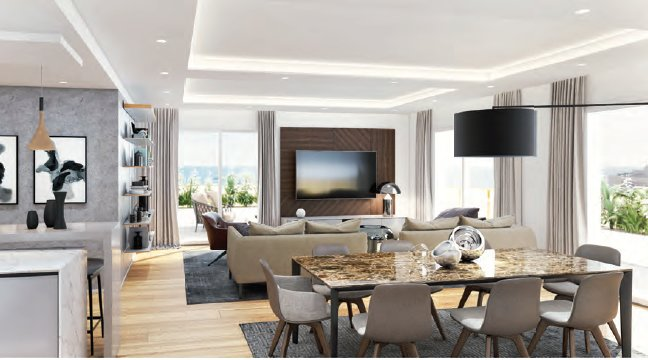 Renovated Four Bedroom Penthouse