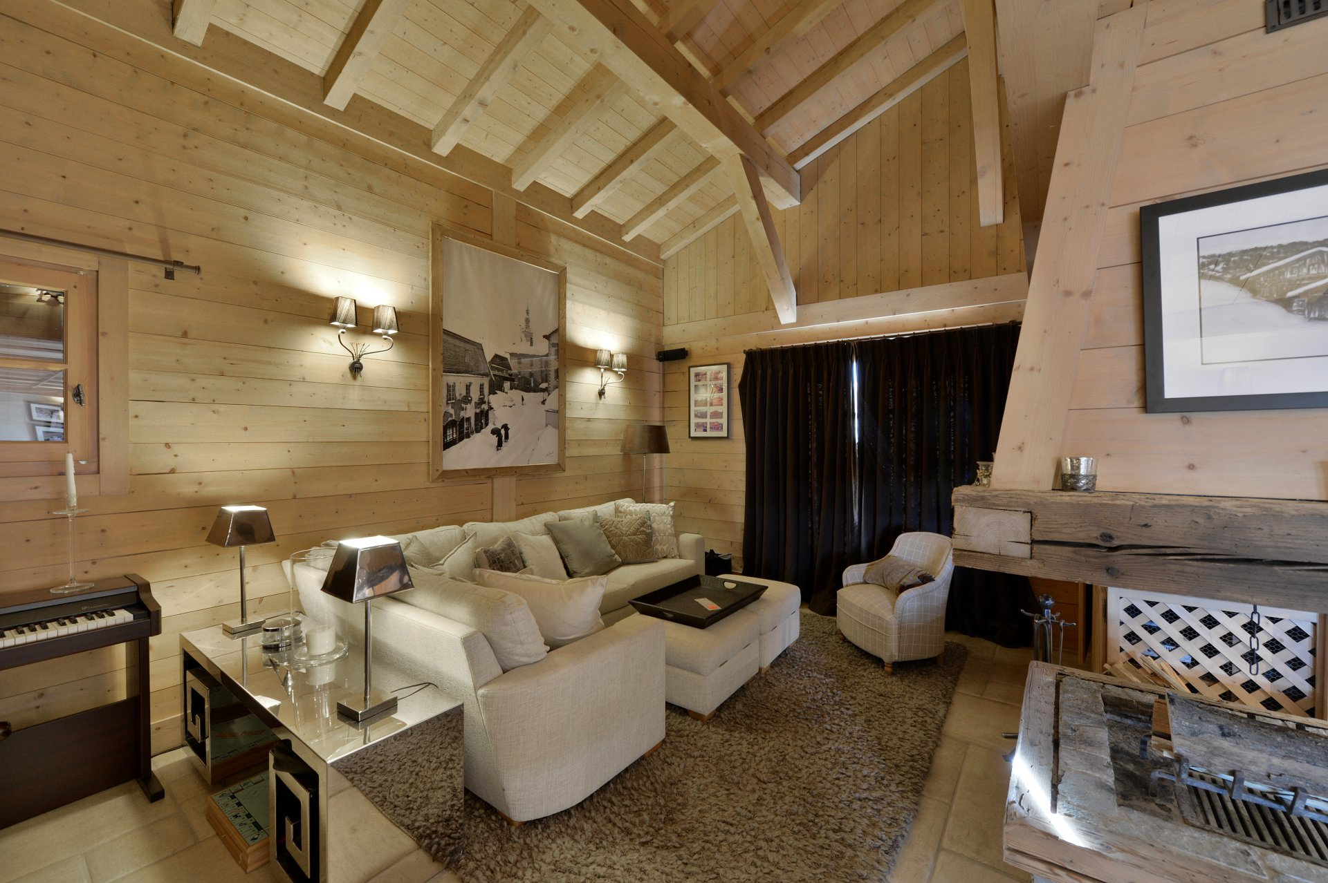 Chalet White Chalet in Megeve