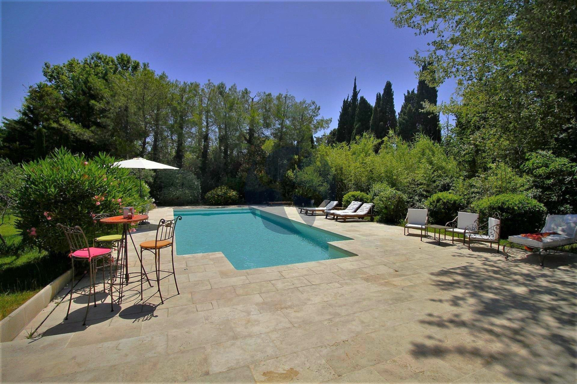Villa sur les hauteurs de Saint Rémy de Provence