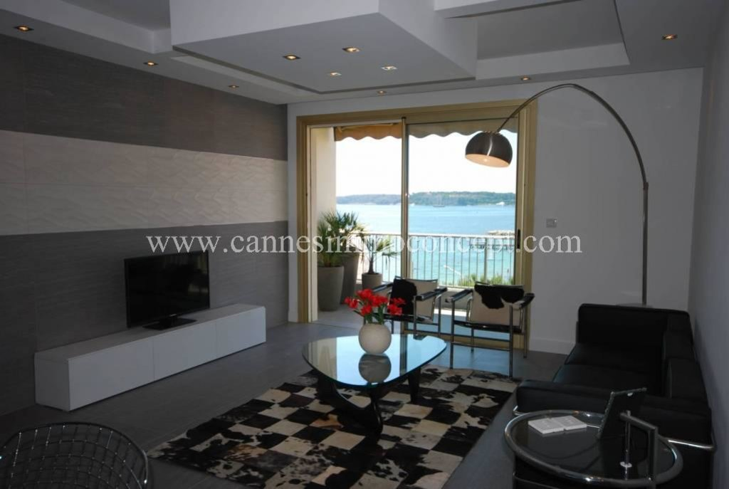 Cannes Palm Beach - 1 bedroom apartment with terrace and see view.