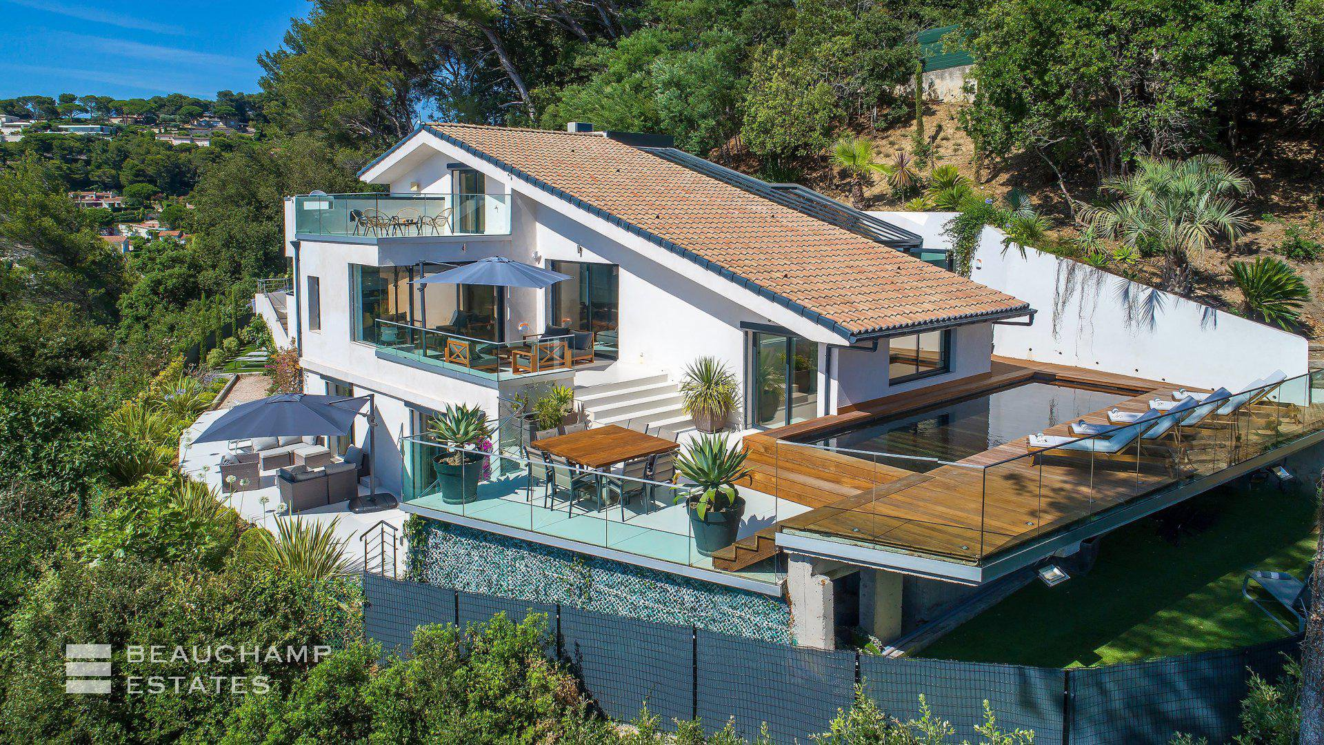 Cannes Californie - Villa contemporaine - Vue Mer