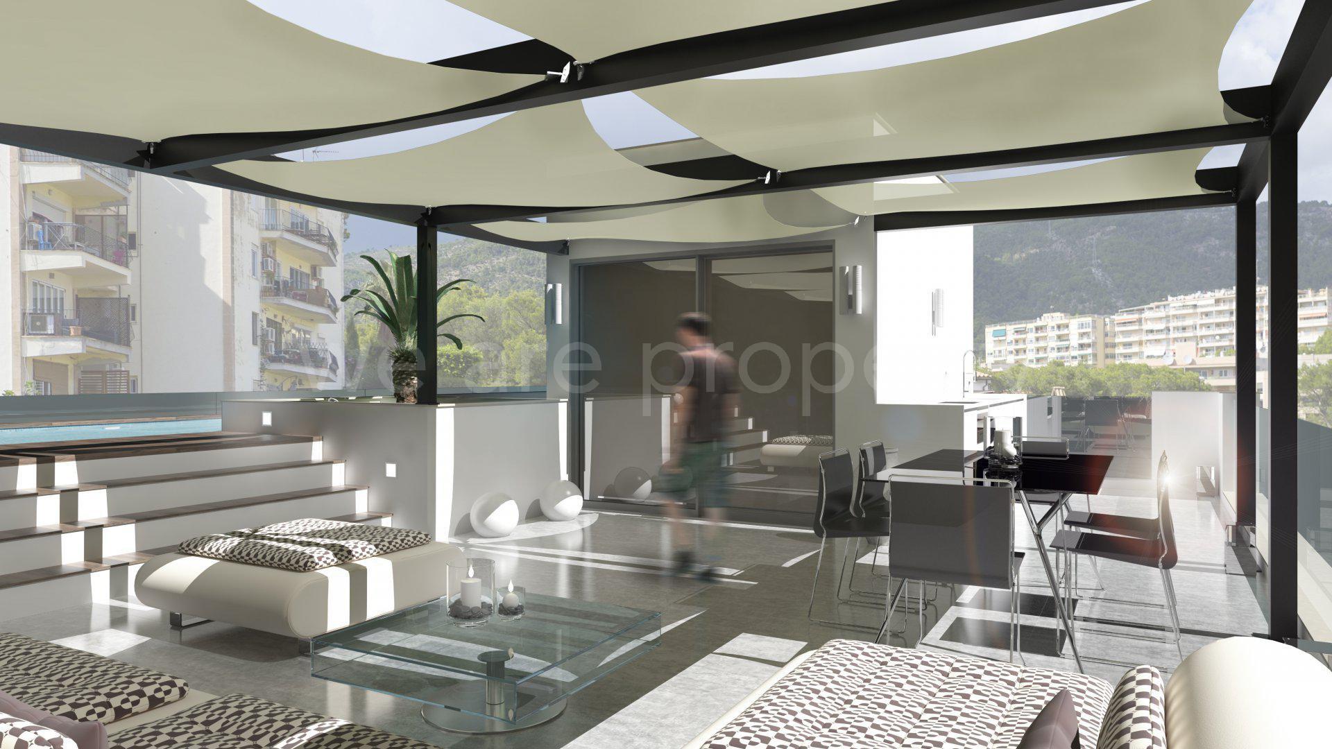 Exclusivo ático con piscina privada