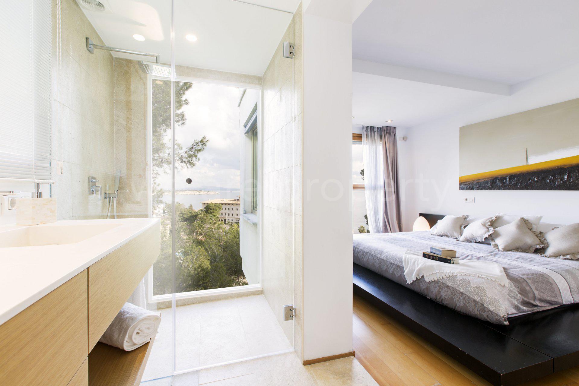 Apartamento con azotea y vistas