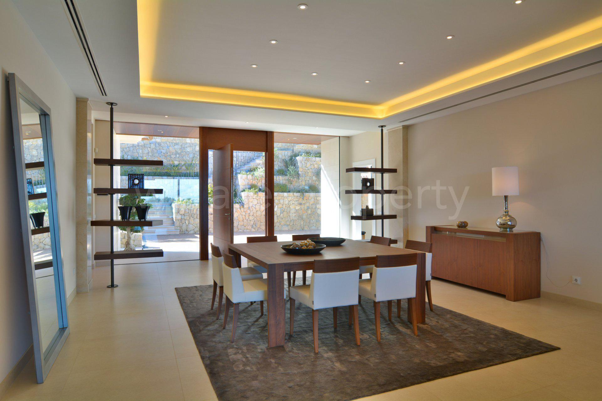 Nybyggd exklusiv villa