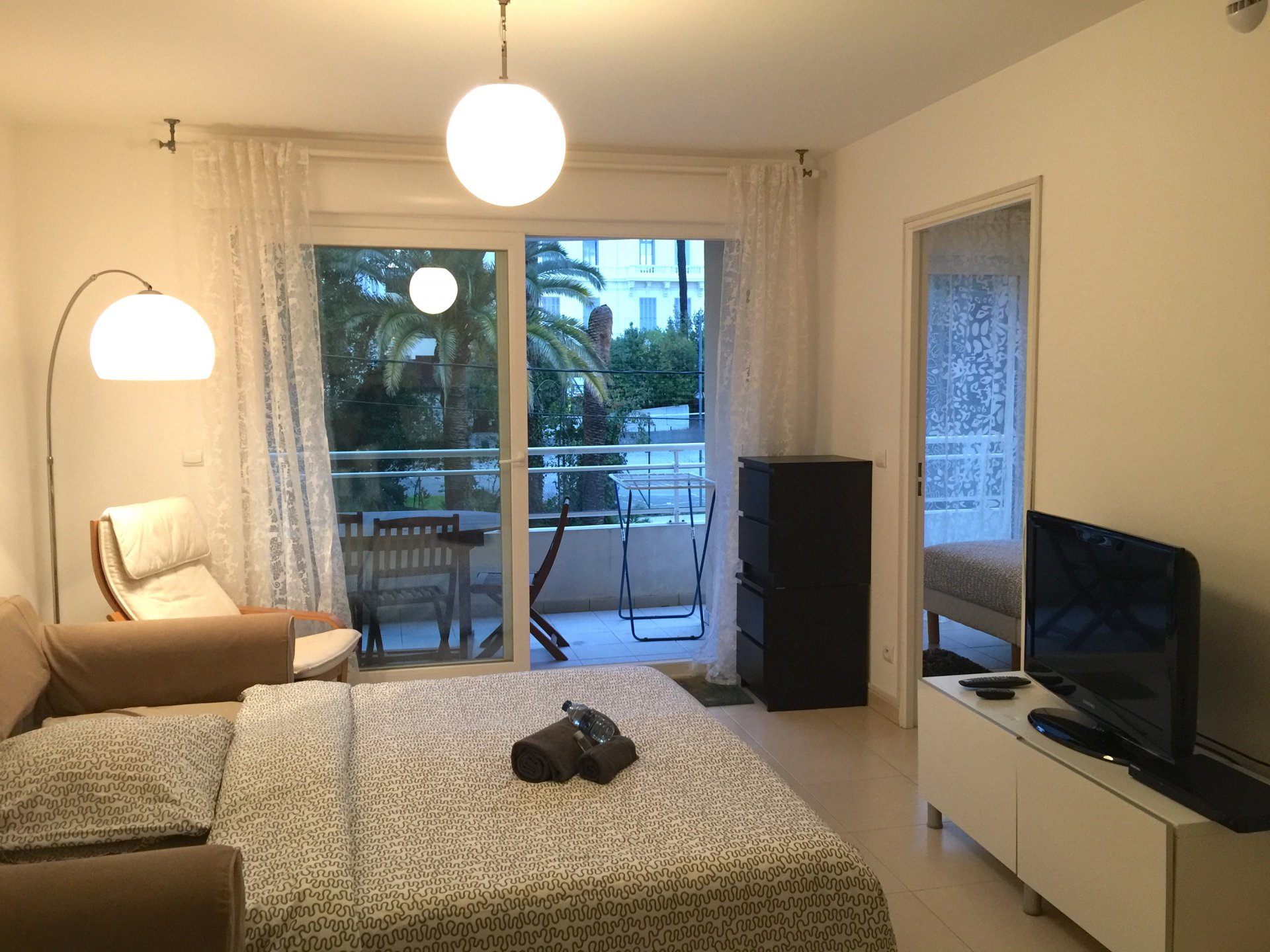 Seasonal rental Apartment - Cannes Saint-Nicolas