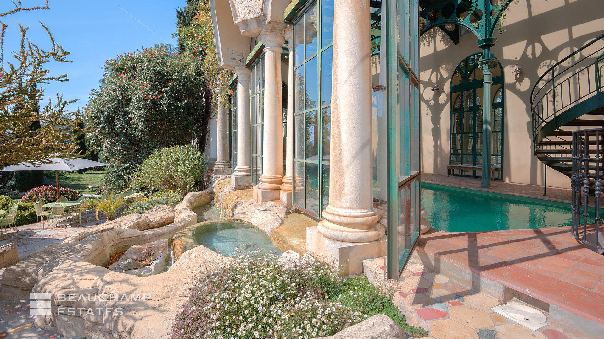 Sumptuous Belle Epoque Waterfront Property Nice