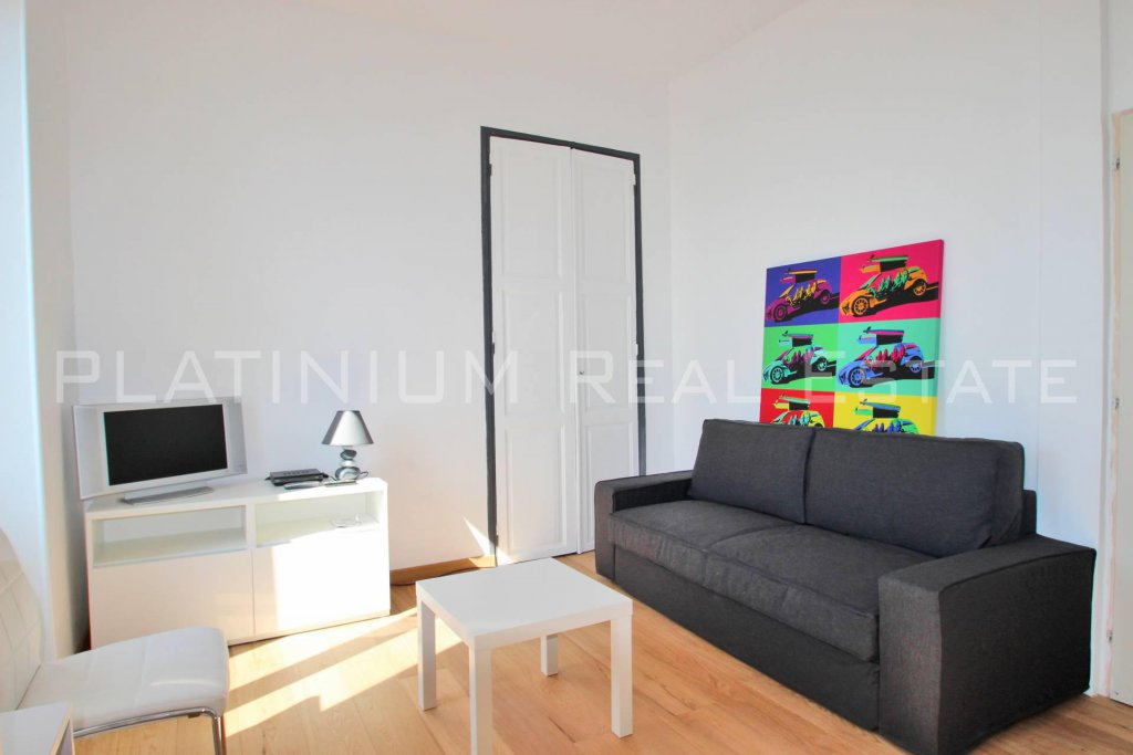 CAP D'AIL :  Furnished Studio | Sea view |