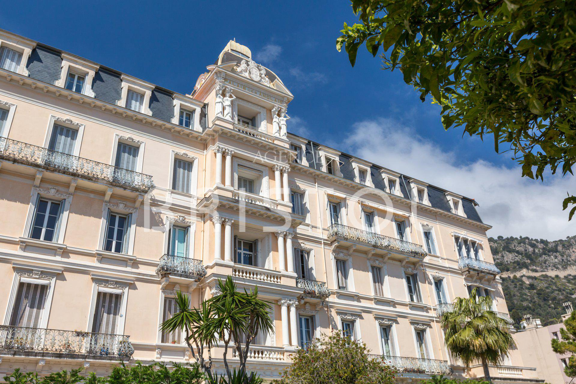 "Magnificent period apartment in famous Belle Epoque building ""Palais des Anglais"""