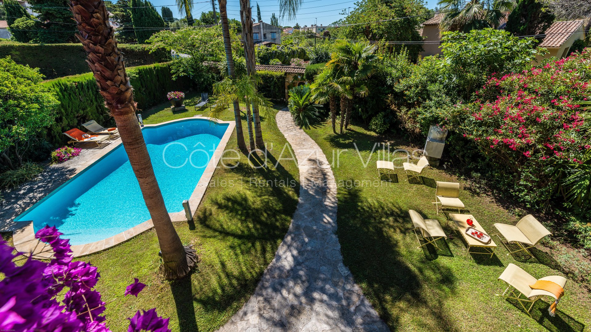 Juan les Pins - Charming Stone Property - Possible Guest House