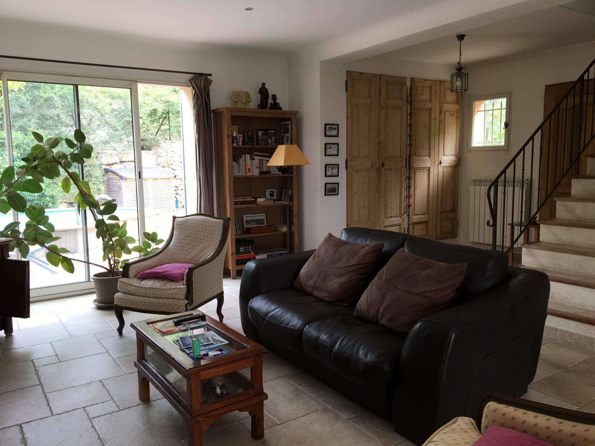 PRETTY 3 BED HOUSE WITH POOL AND VIEWS COTIGNAC