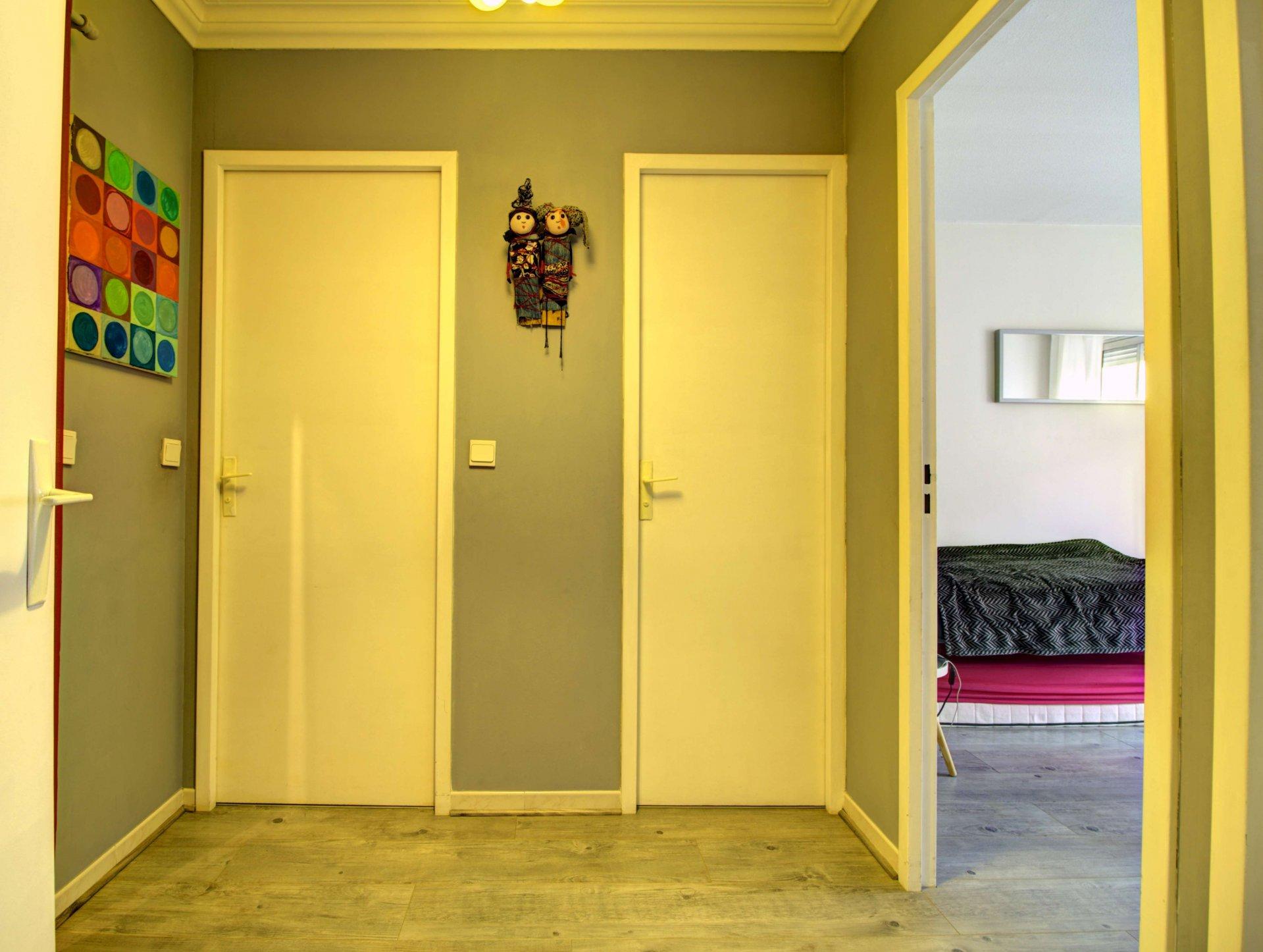 Couloir, parquet
