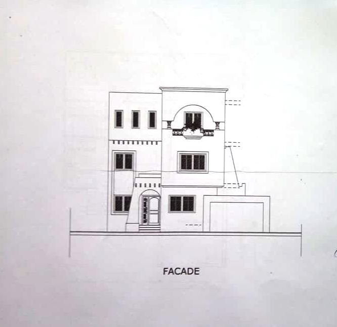 Belle villa jumelée neuve plus 300m2 avec 5 chambres jardin garage